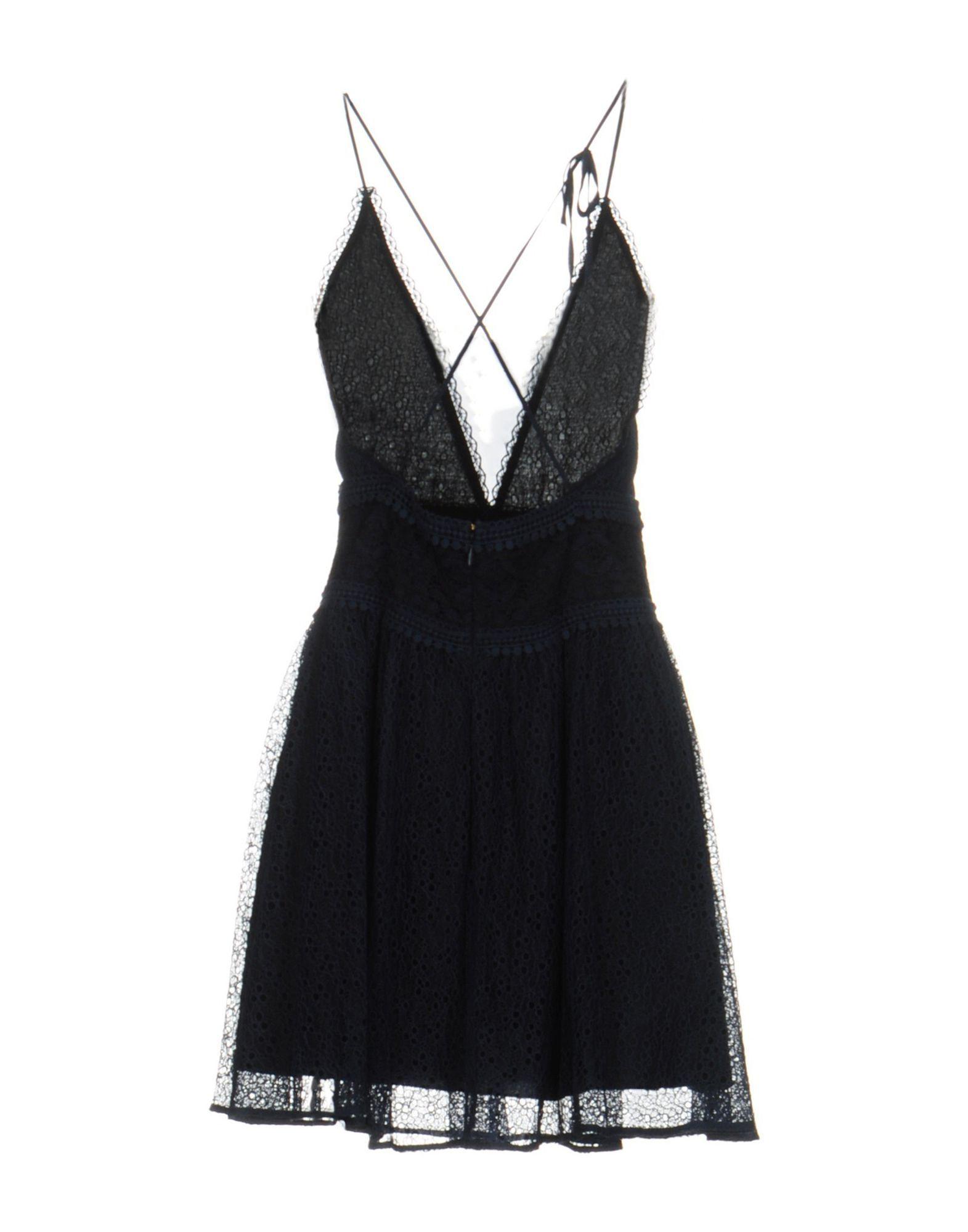 Pinko Dark Blue Short Dress