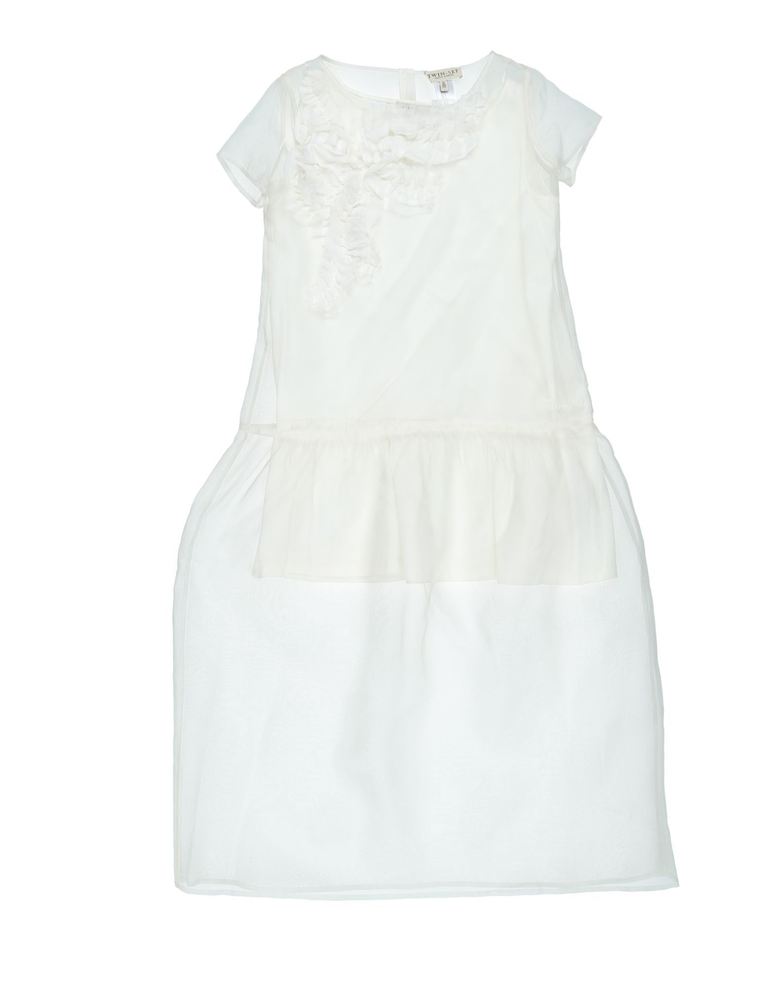 DRESSES Twinset White Girl Cotton