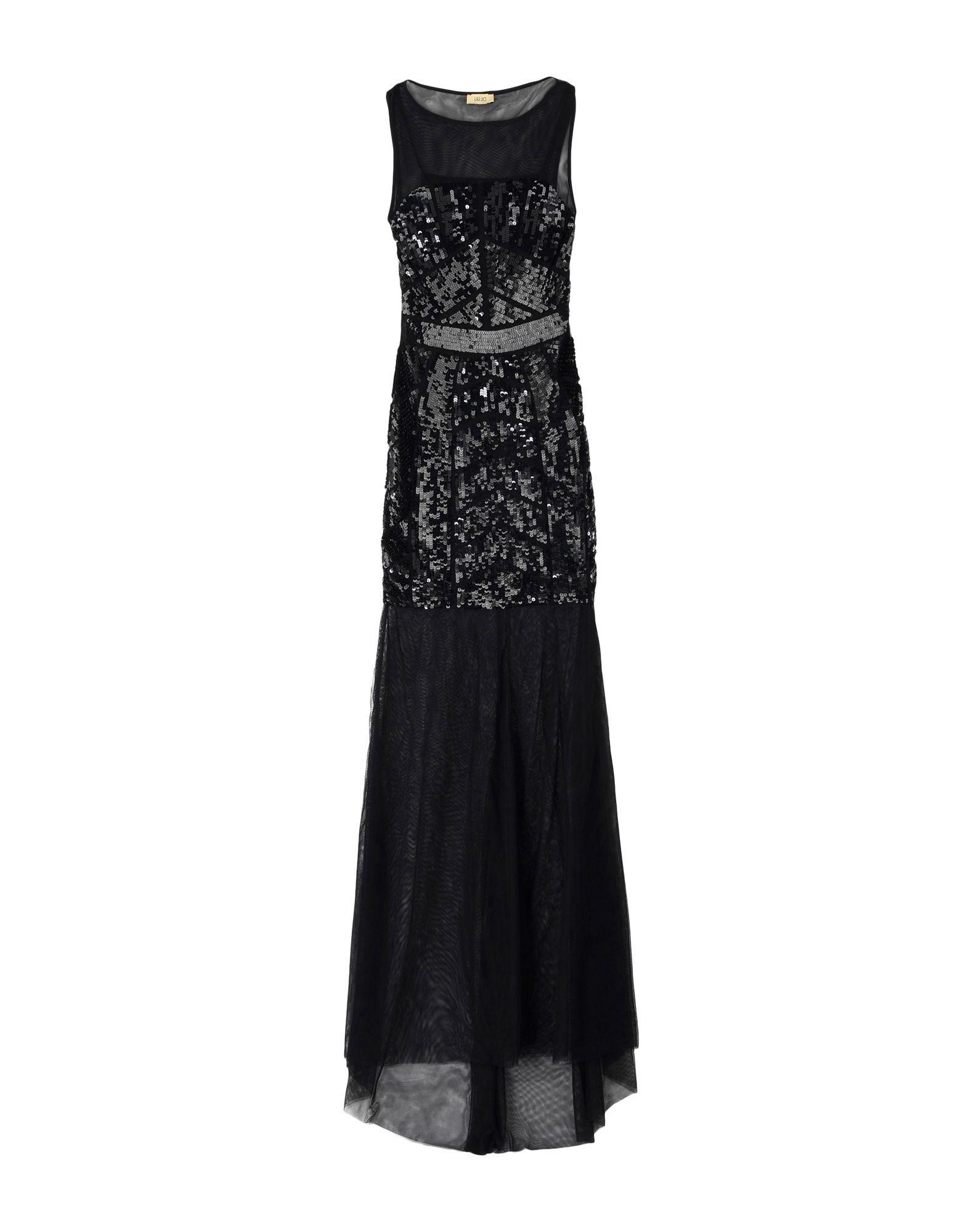 Liu Jo Black Full Length Dress