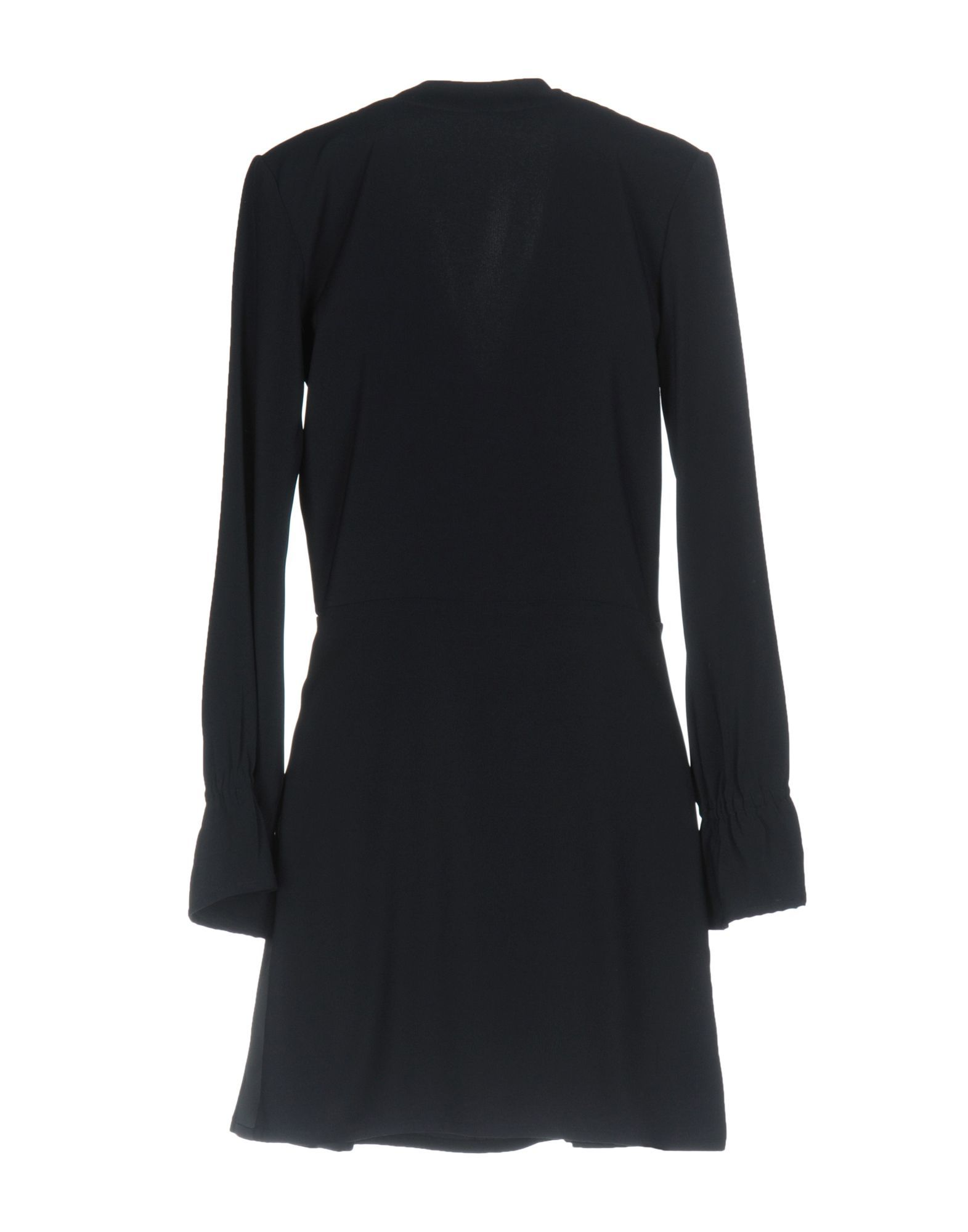Merci Dark Blue Long Sleeve Dress
