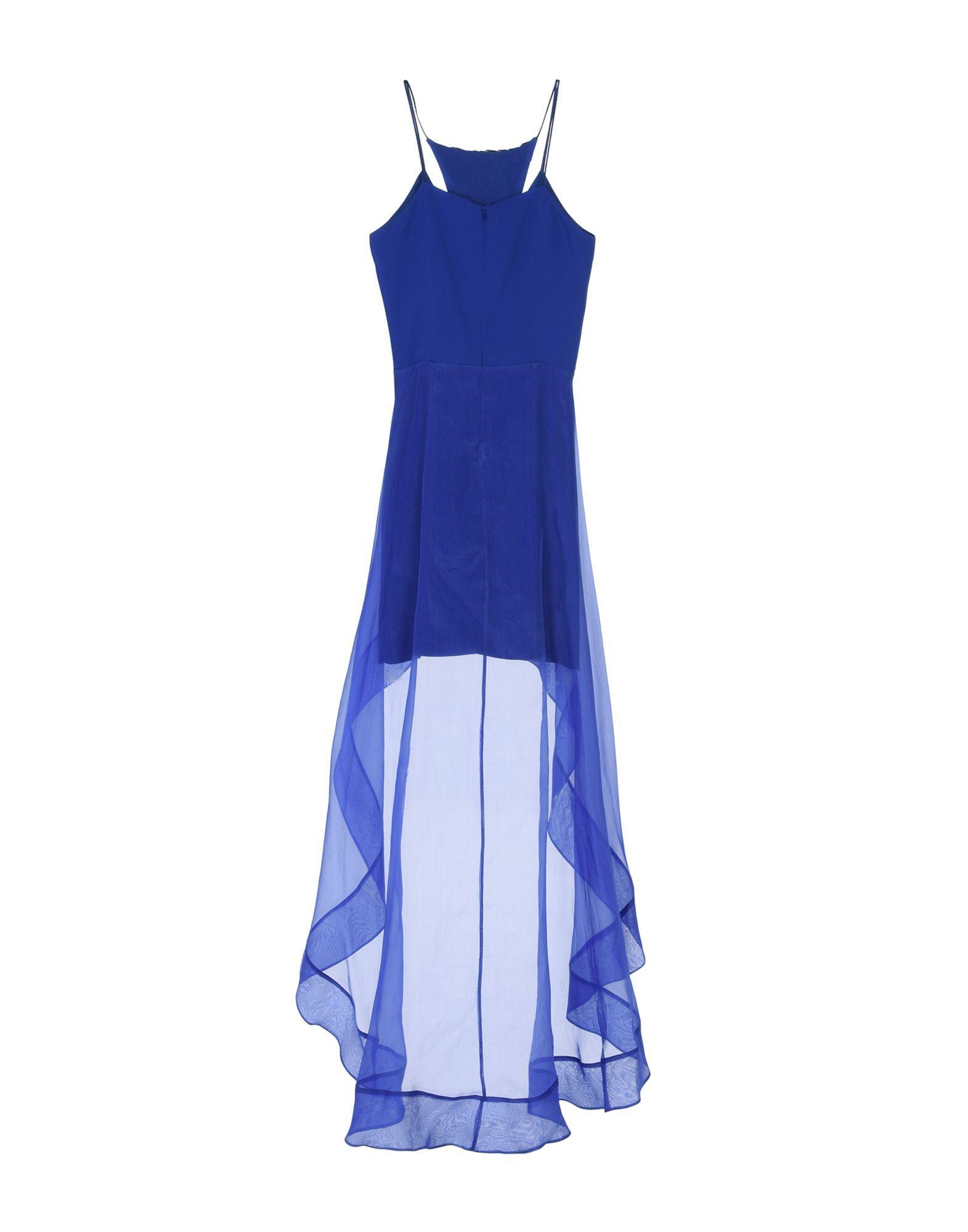 Hanita Blue Crepe Dress