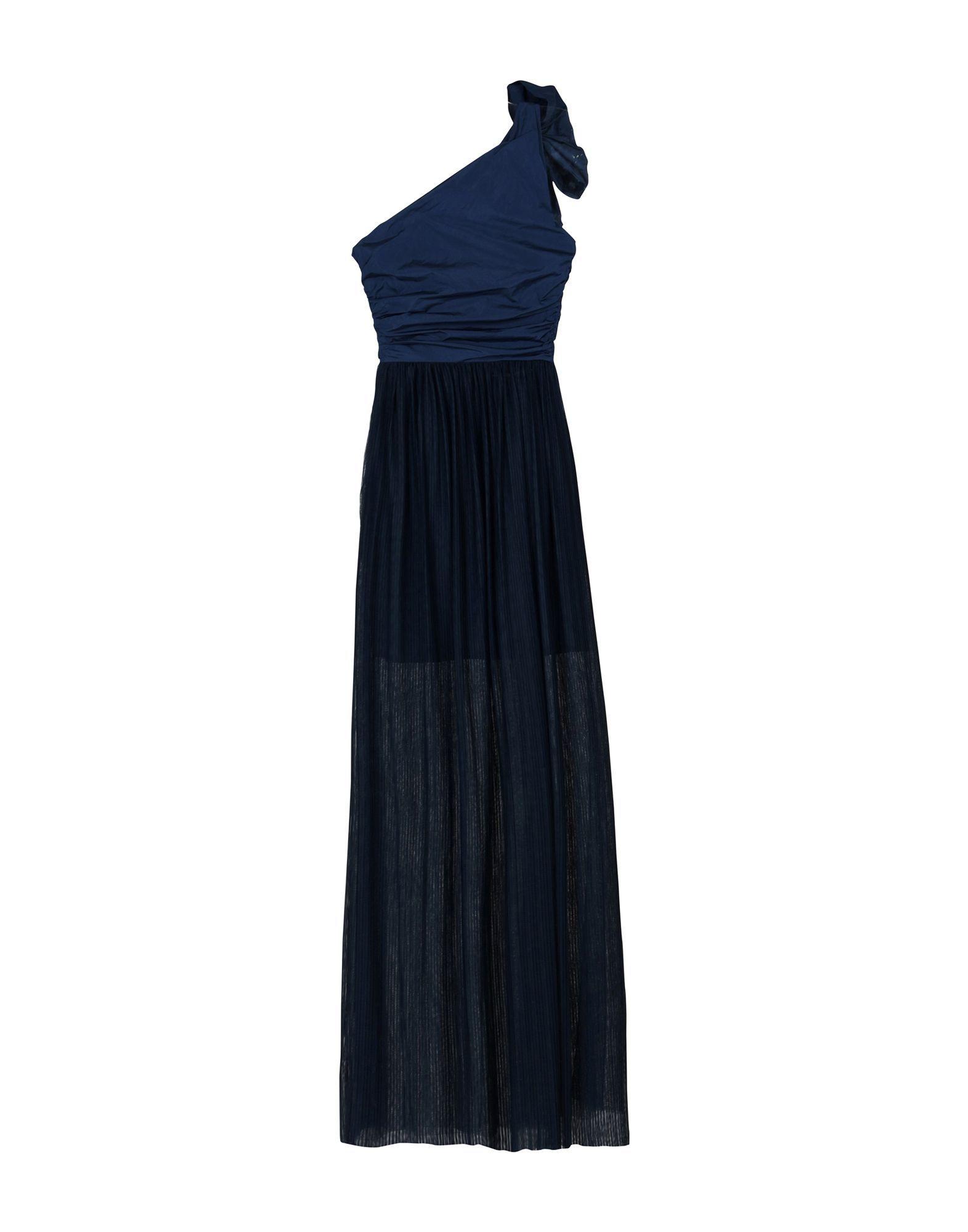 Pinko Dark Blue Full Length Dress