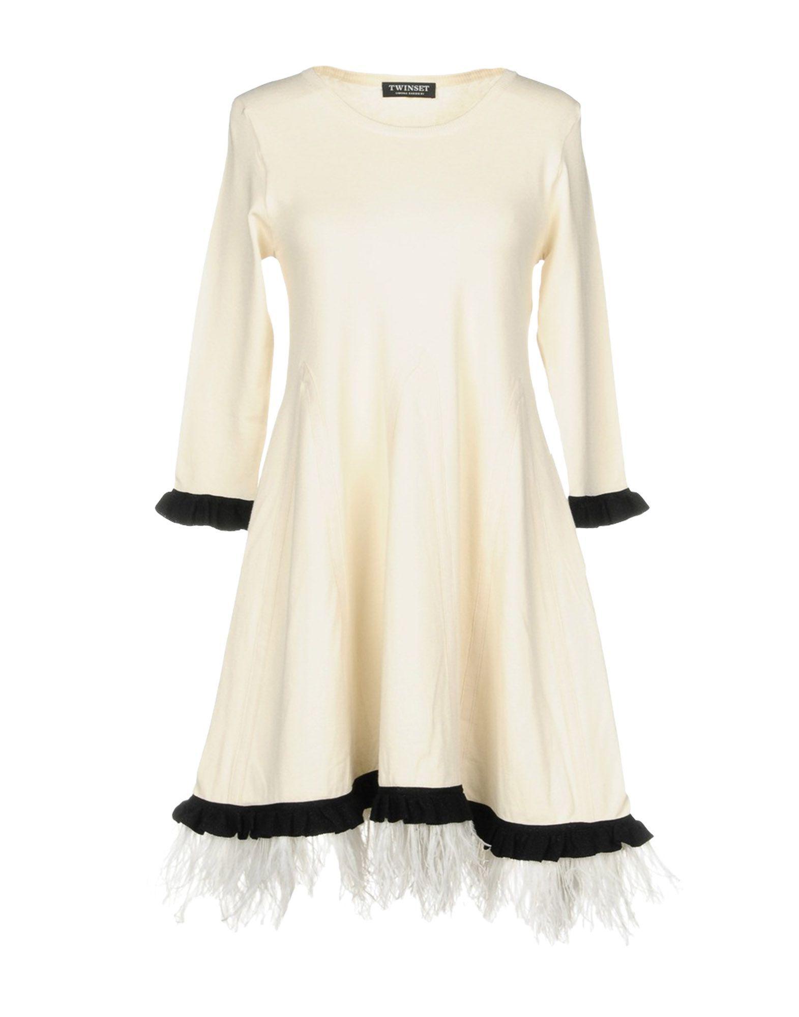 DRESSES Twinset Ivory Woman Viscose