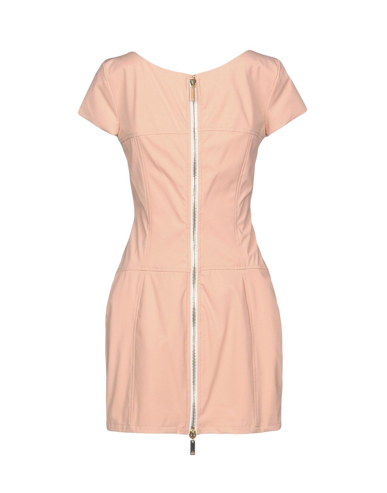 Elisabetta Franchi Pink Short Sleeve Short Dress
