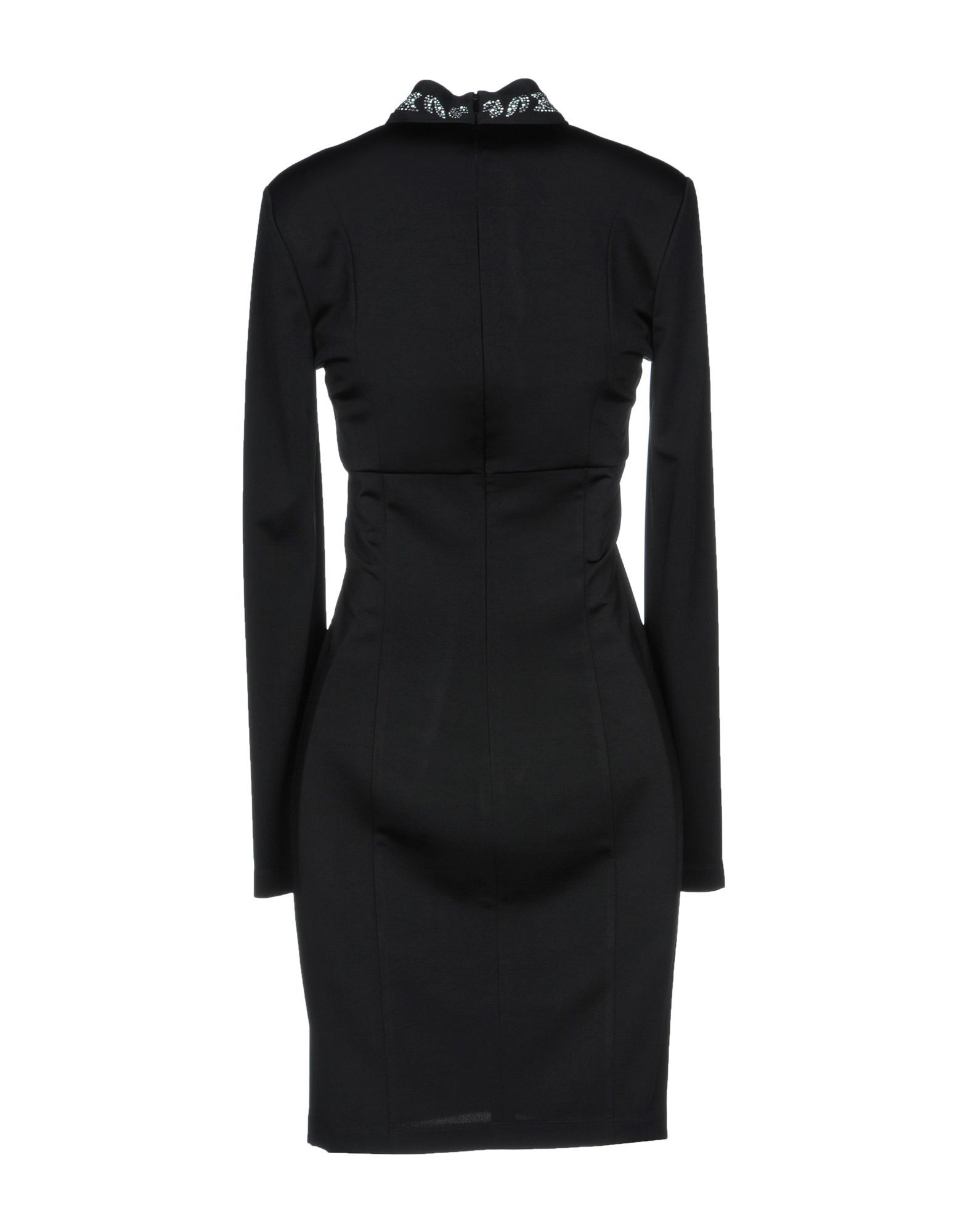 Just Cavalli Black Long Sleeve Dress