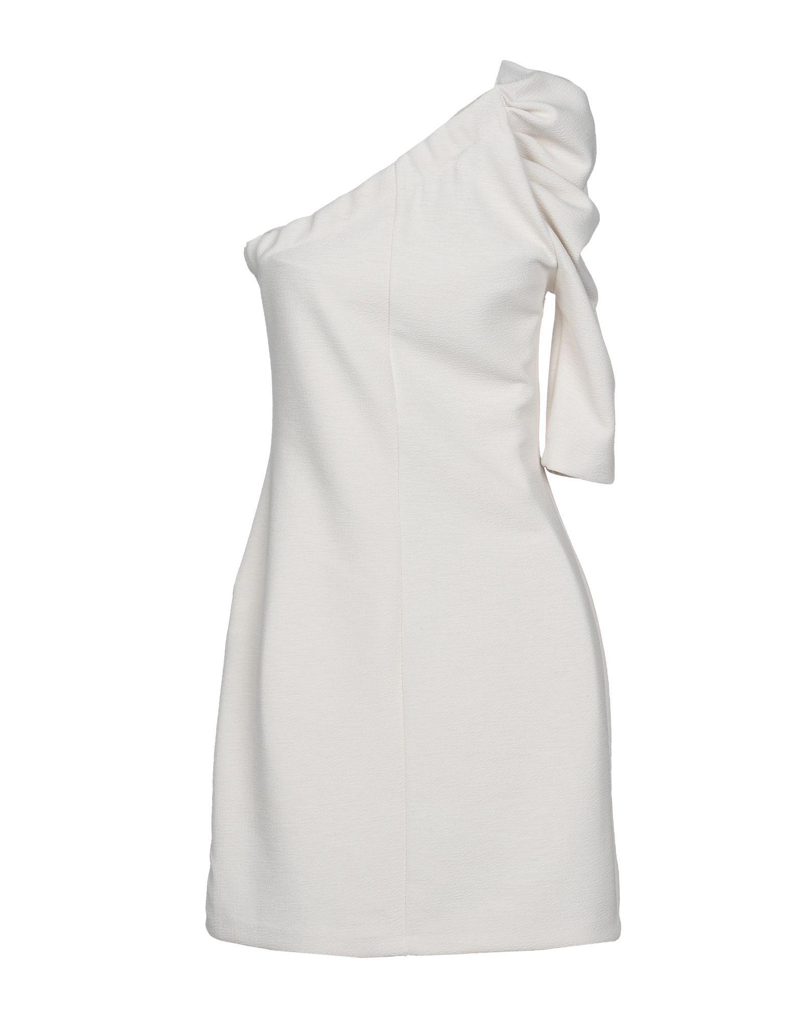 Kaos Ivory One Shoulder Dress