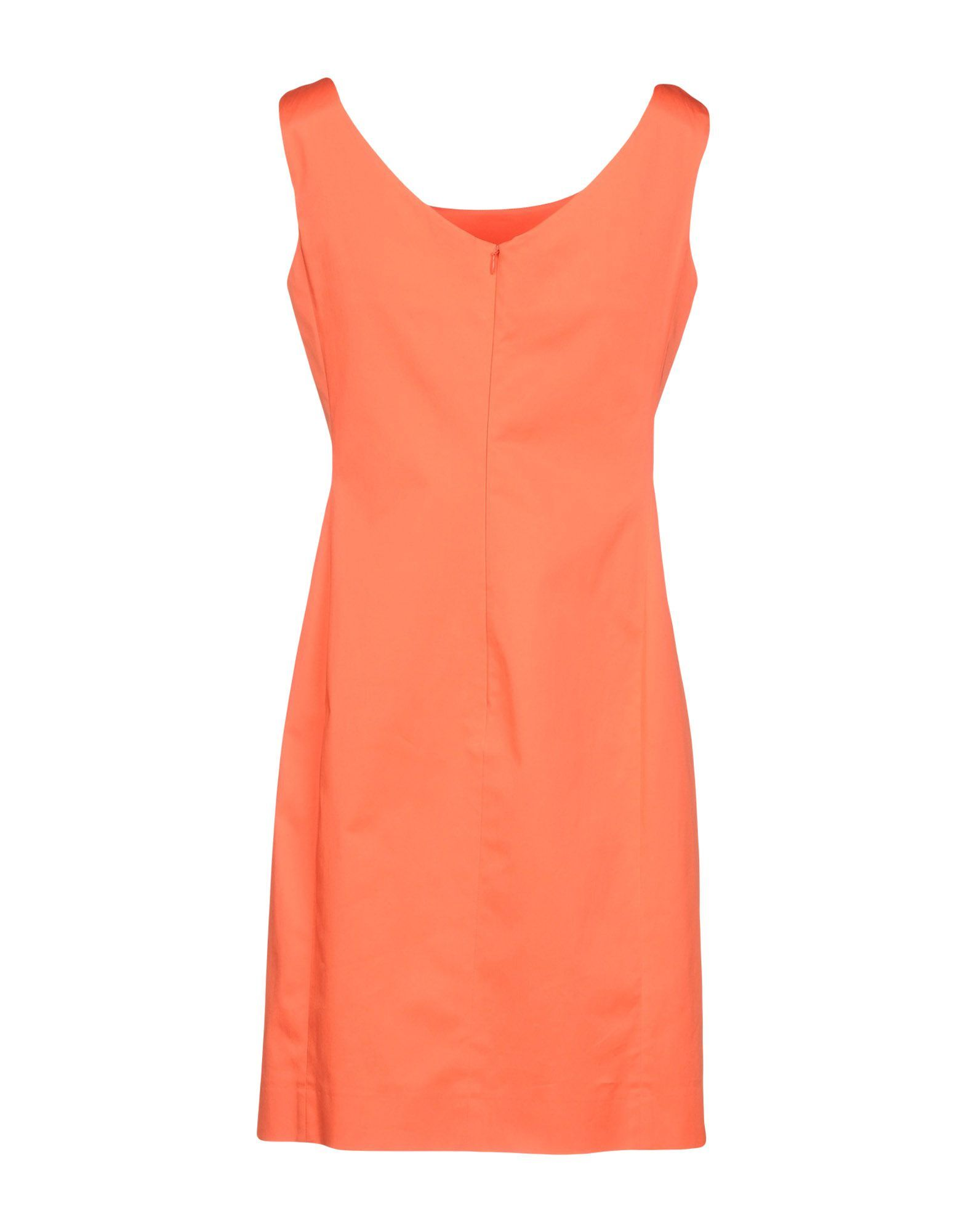 DRESSES Boutique Moschino Orange Woman Cotton