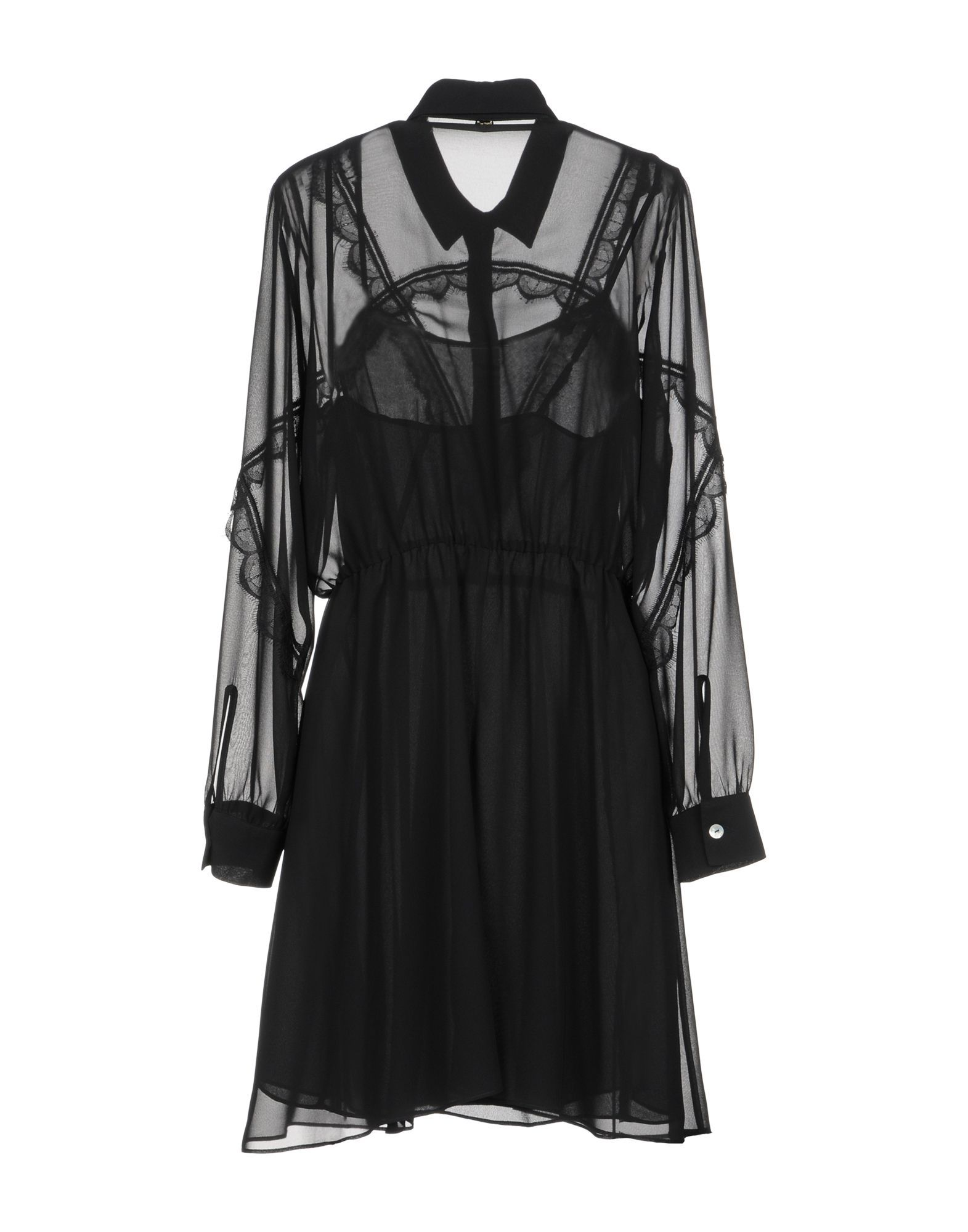 Blugirl Blumarine Black Long Sleeve Dress