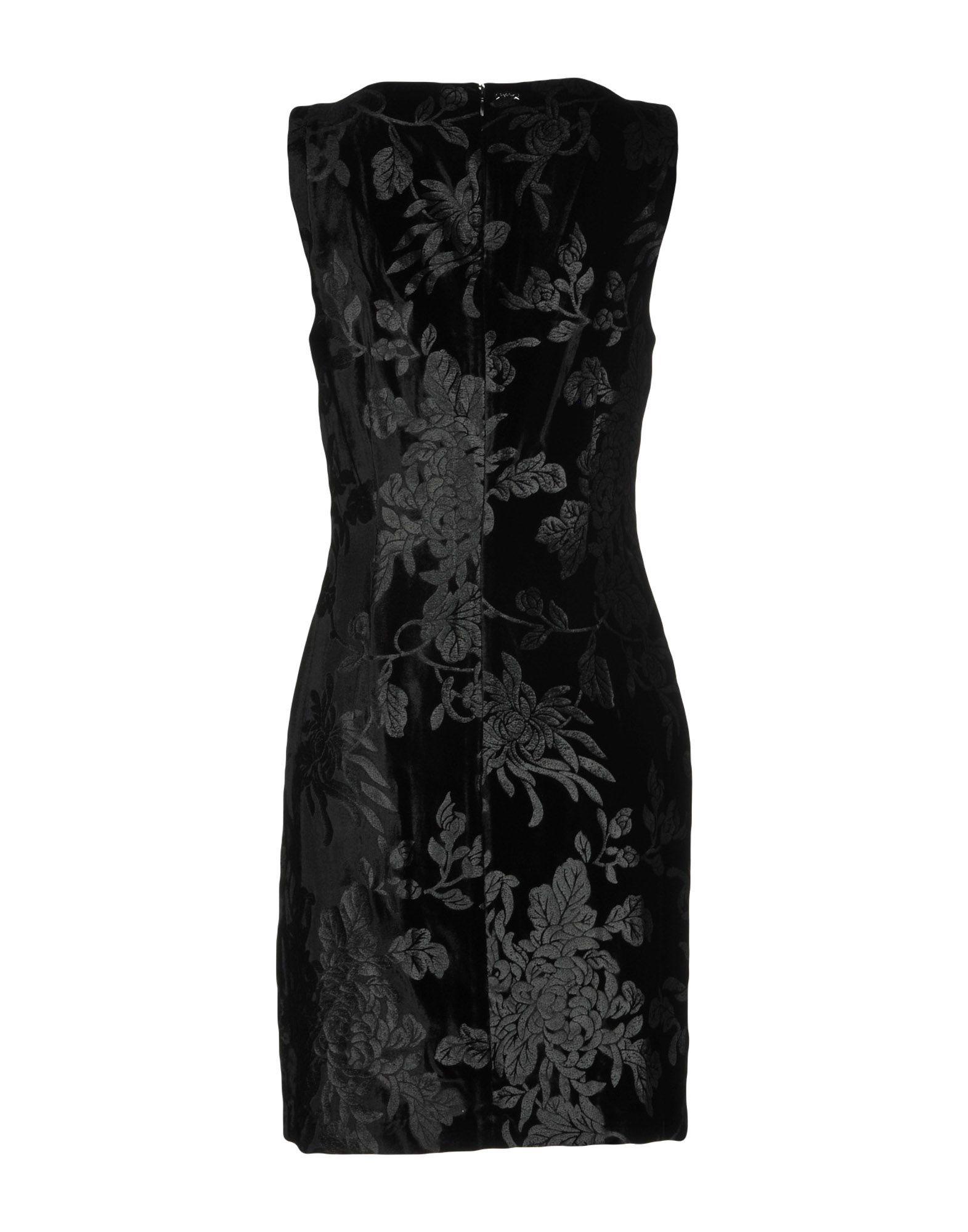 Byblos Black Velvet Sleeveless Dress