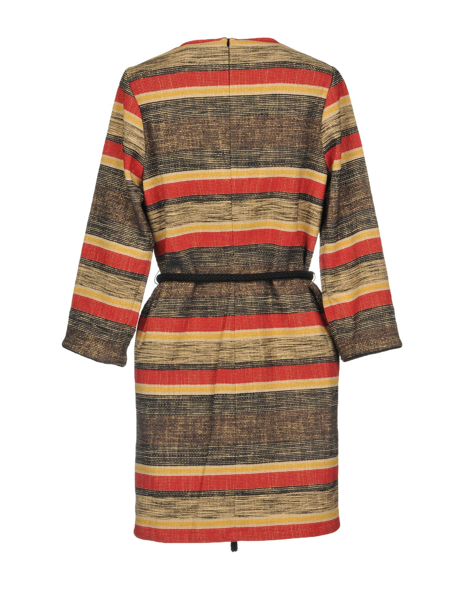 Sessun Red Stripe Cotton Dress