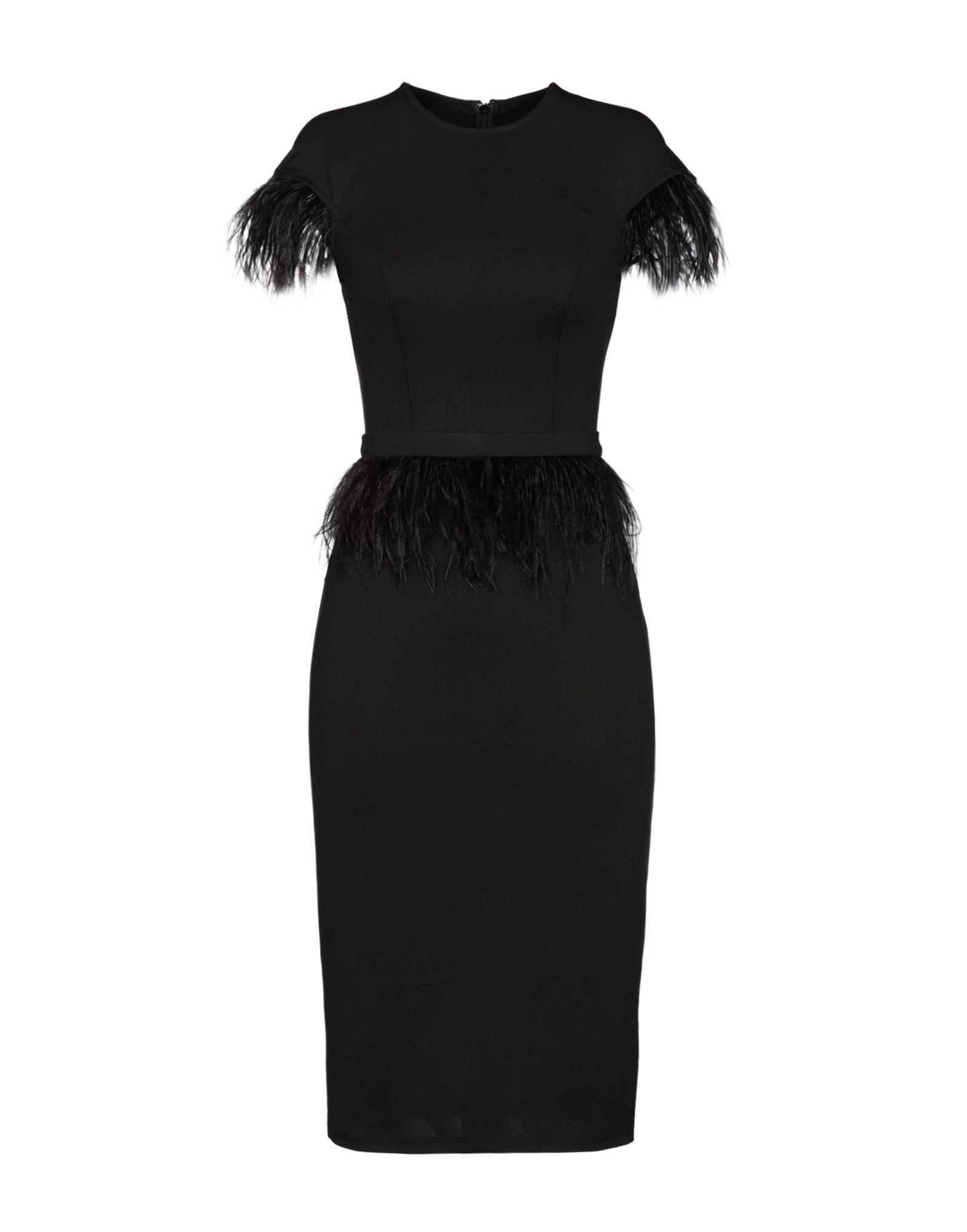 Isabel Garcia Black Pencil Length Dress