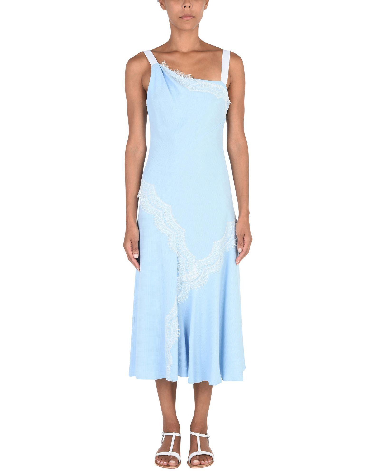 Prabal Gurung Sky Blue Dress