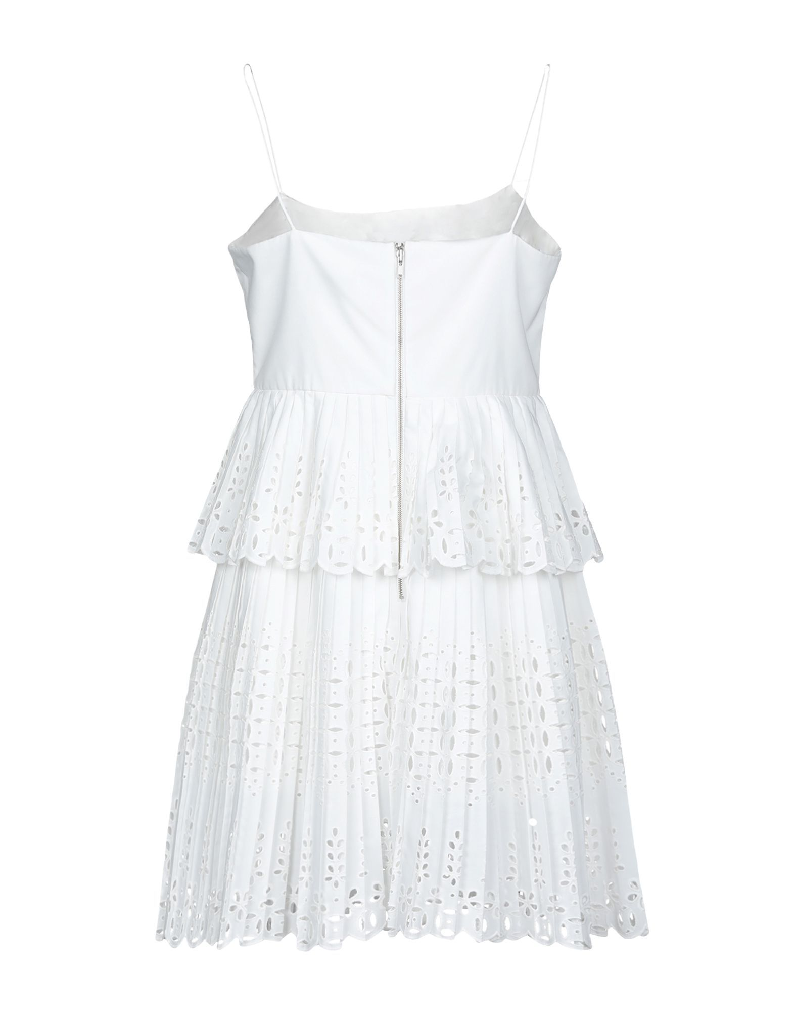 Self-Portrait White Cotton Lace Dress