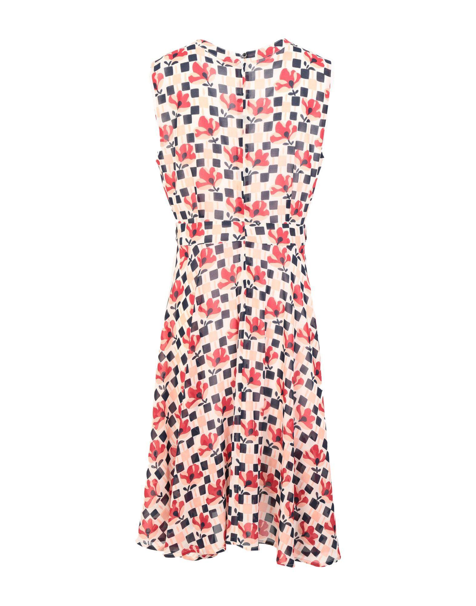 Anonyme Designers Pink Print Dress