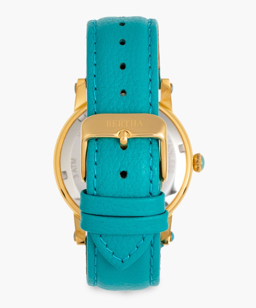 Isabella turquoise watch