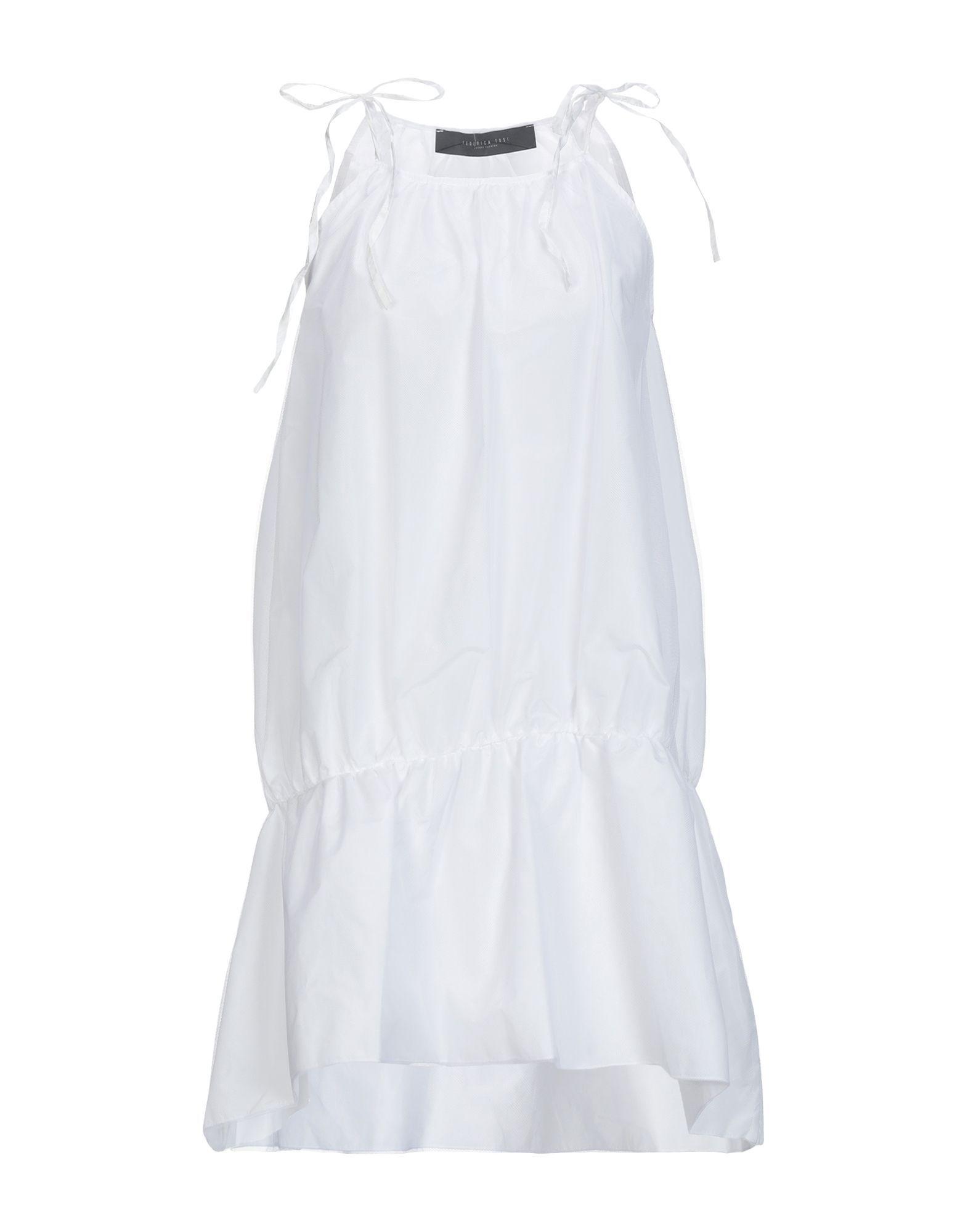 Federica Tosi White Short Dress