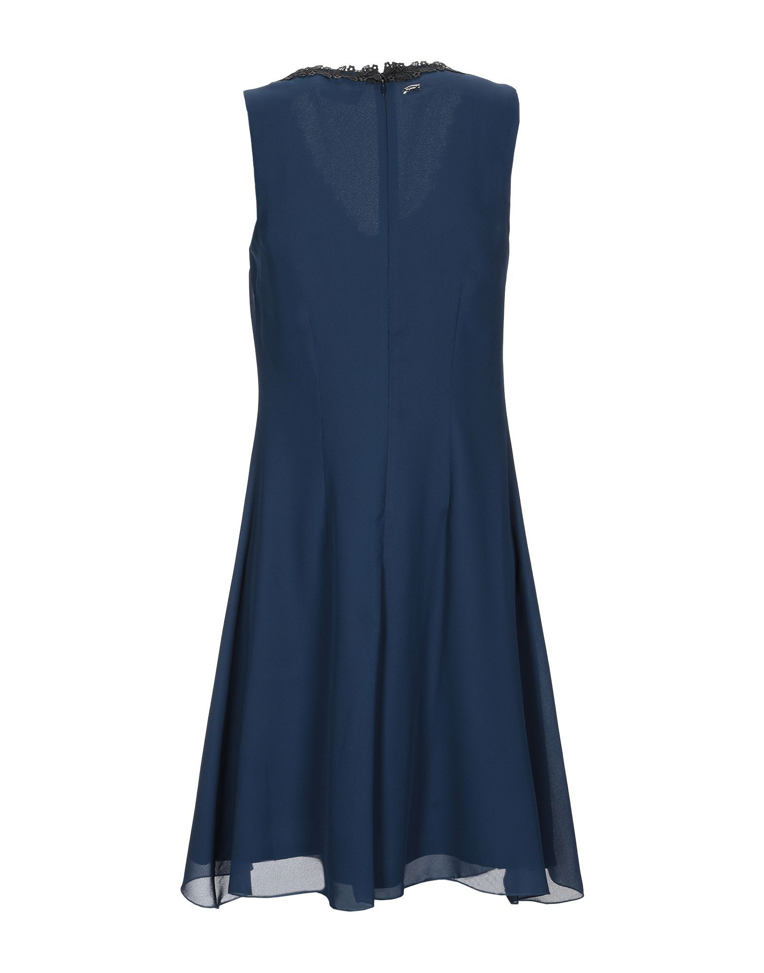 Byblos Dark Blue Sleeveless Dress