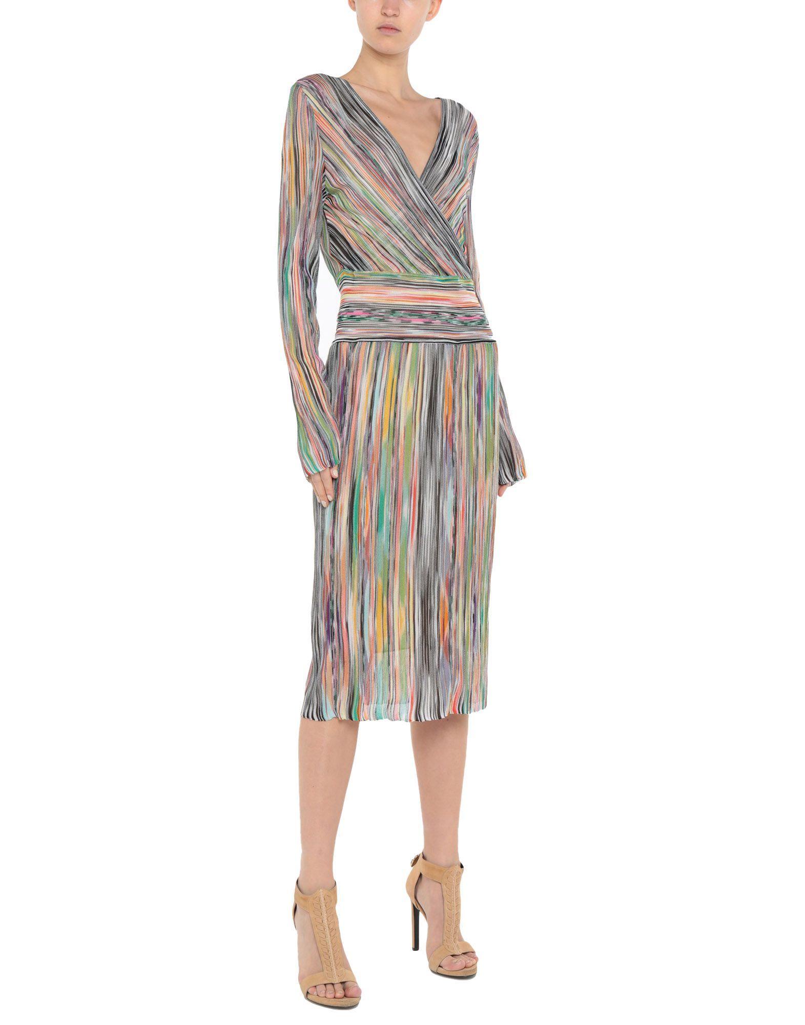 Missoni Green Stripe Dress