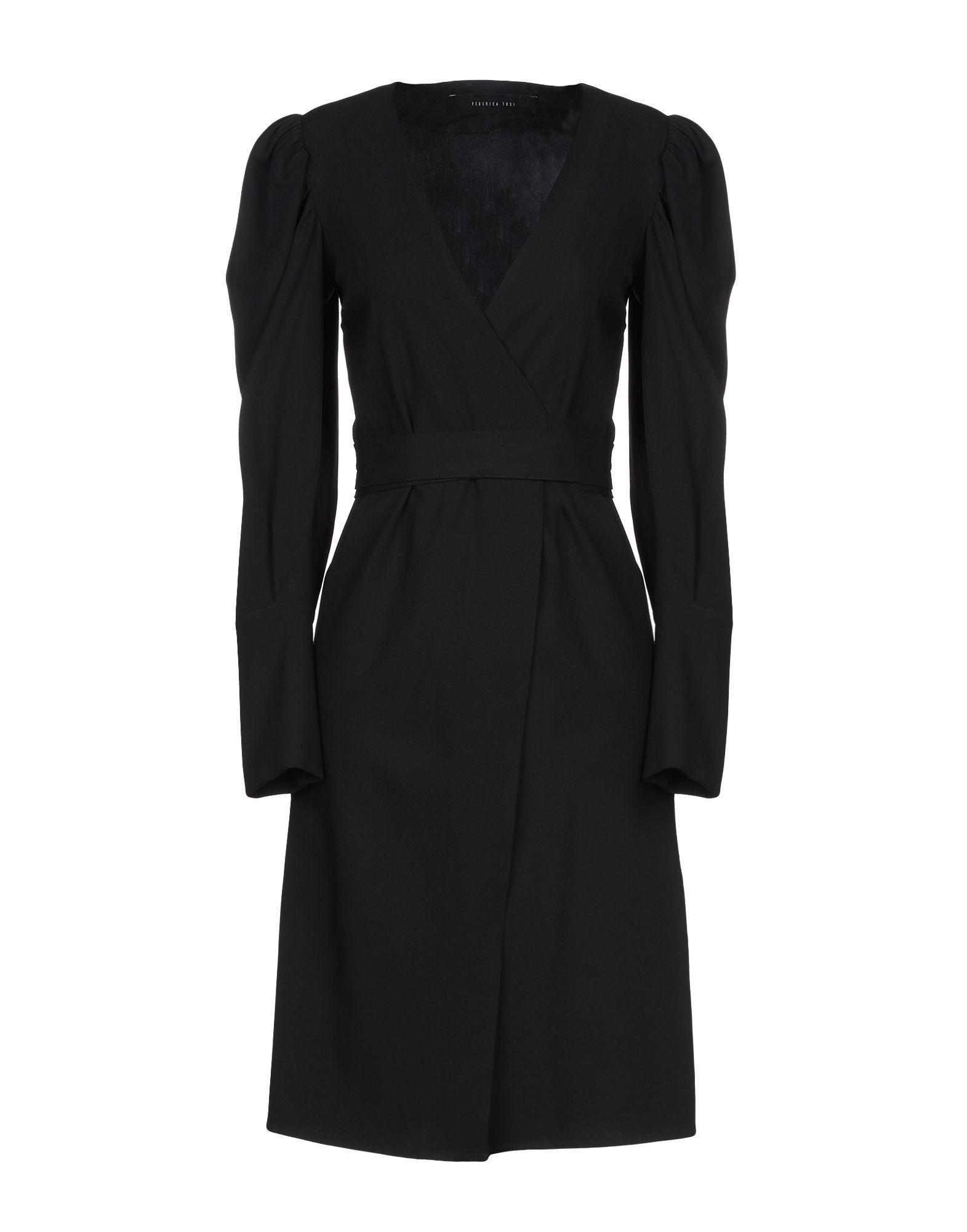 Federica Tosi Black Long Sleeve Dress