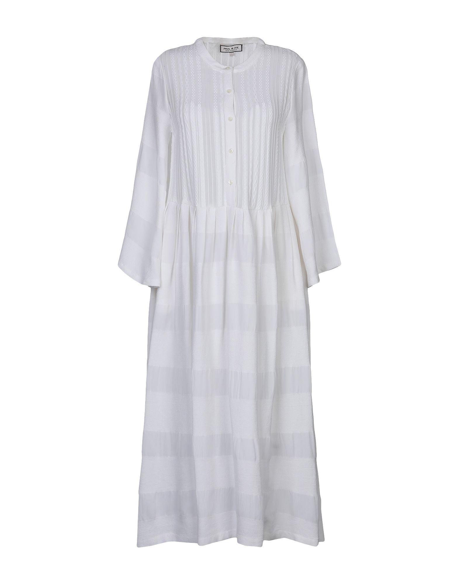 Paul & Joe White Cotton Shirt Dress