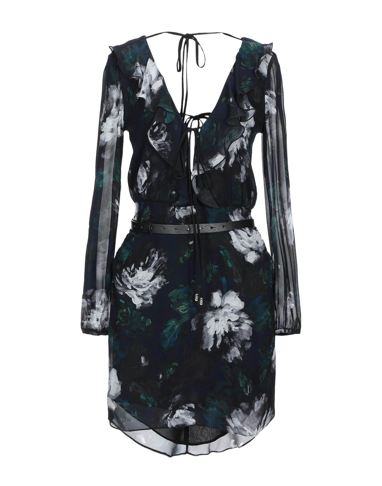 Patrizia Pepe Black Print Short Dress