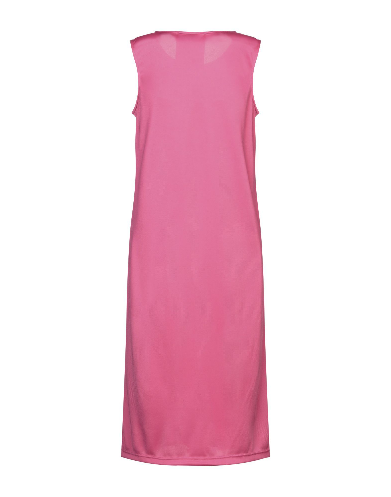 Boy London Fuchsia Logo Full Length Dress