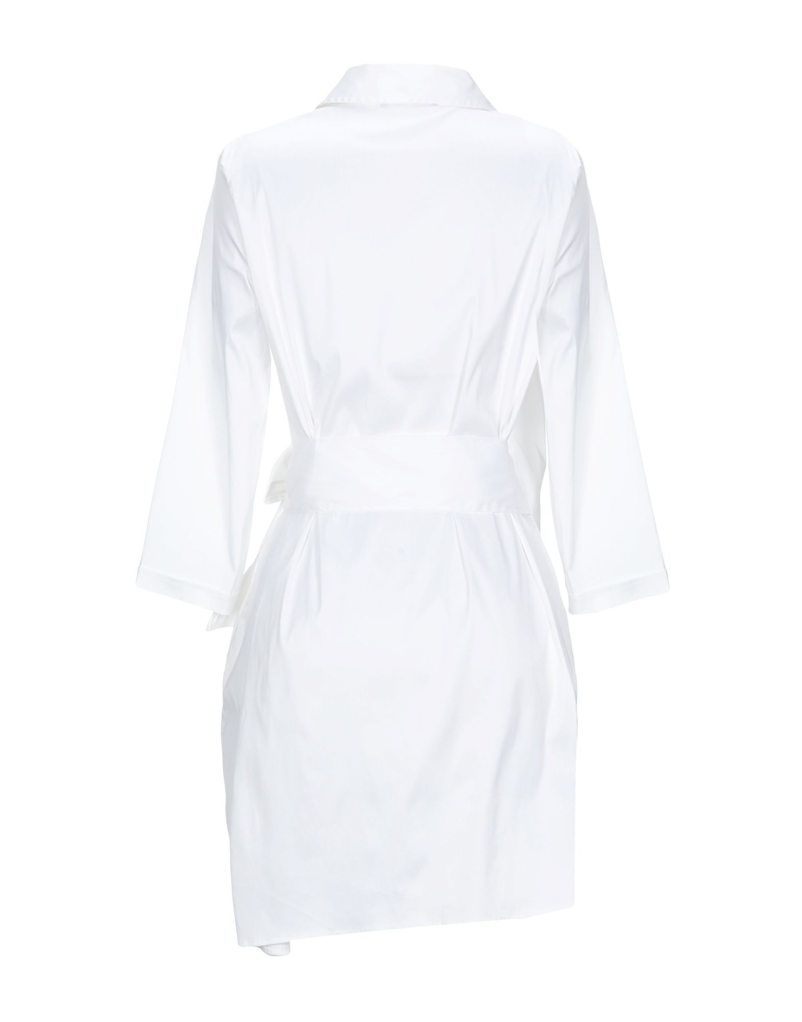 Stefanel White Cotton Shirt Dress