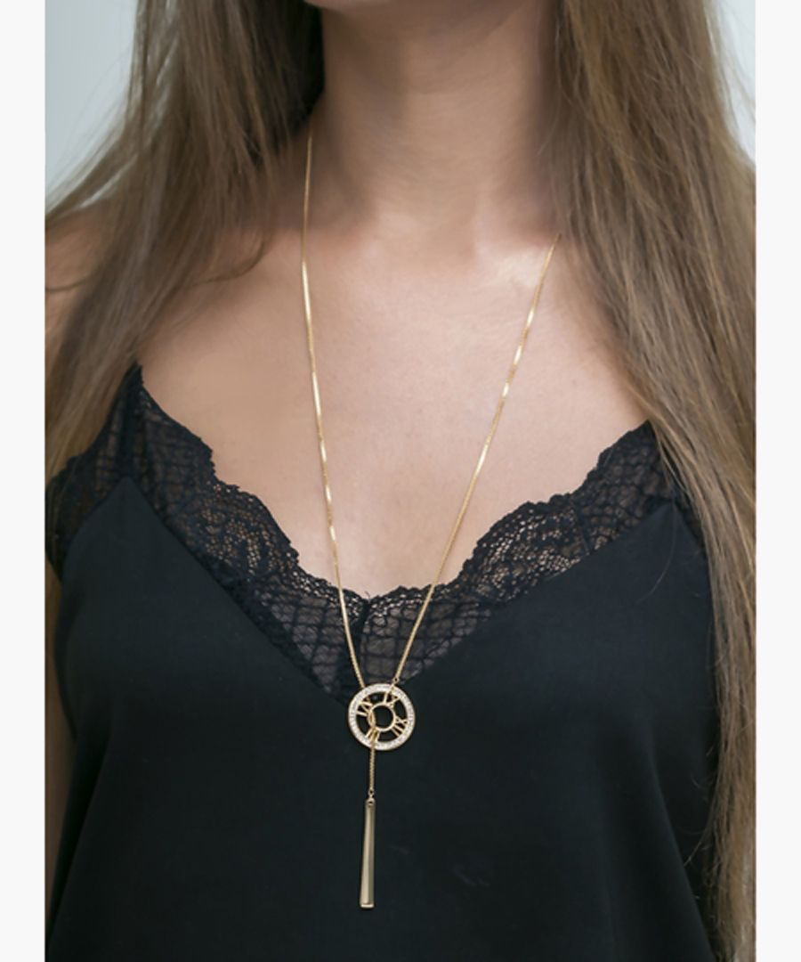 Gold-plated pendant