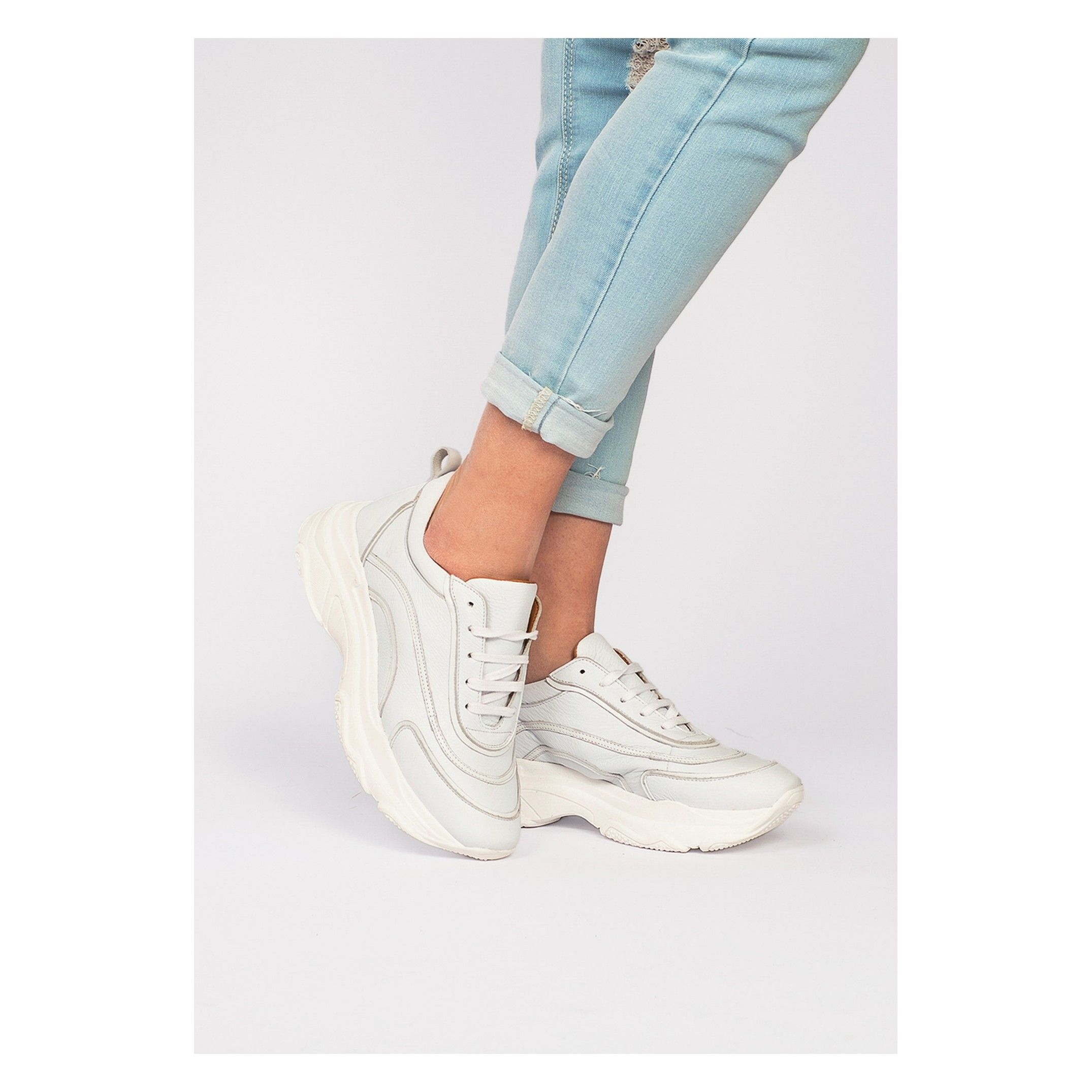 Leather Sneakers Laces