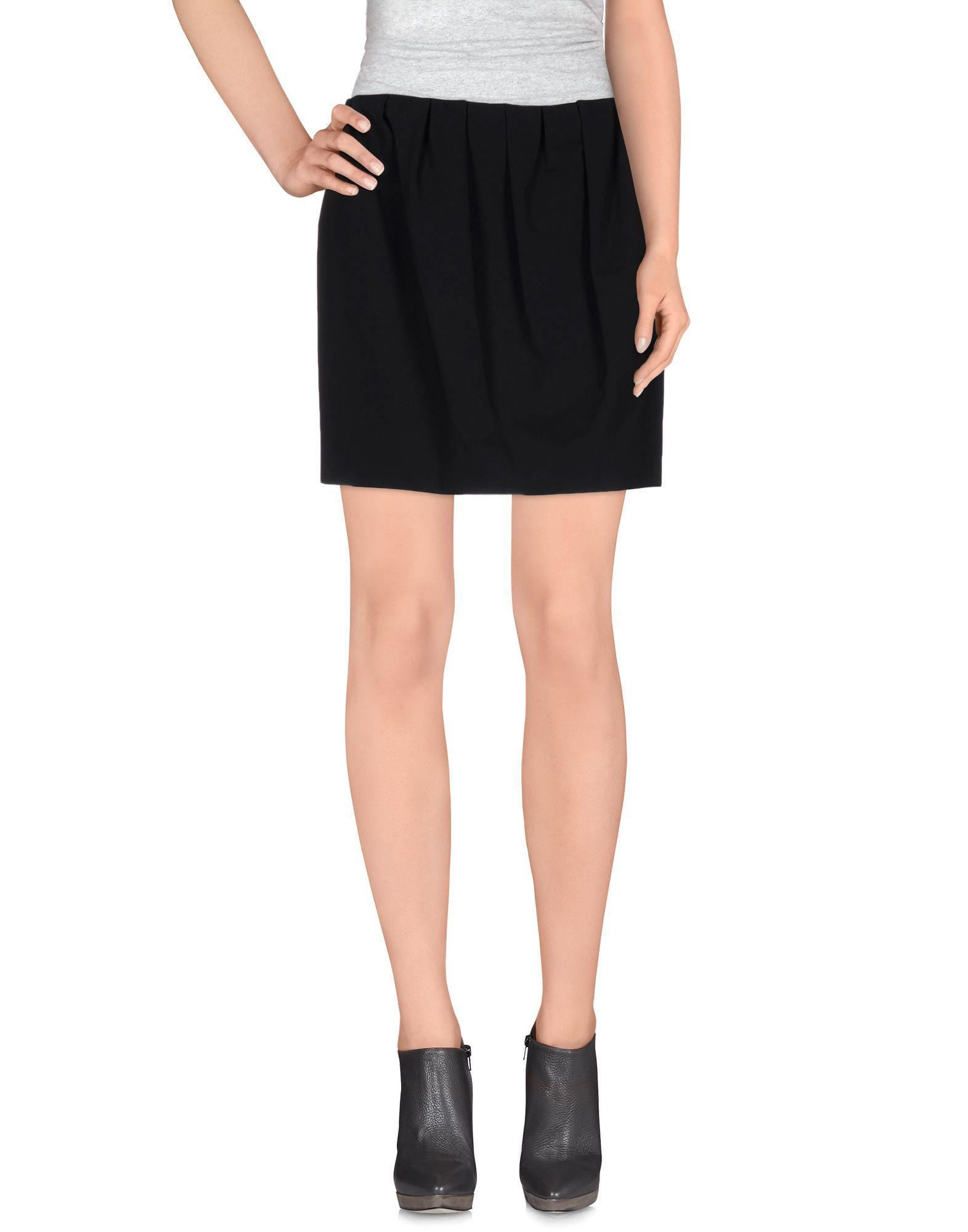 Just Cavalli Black Short Skirt
