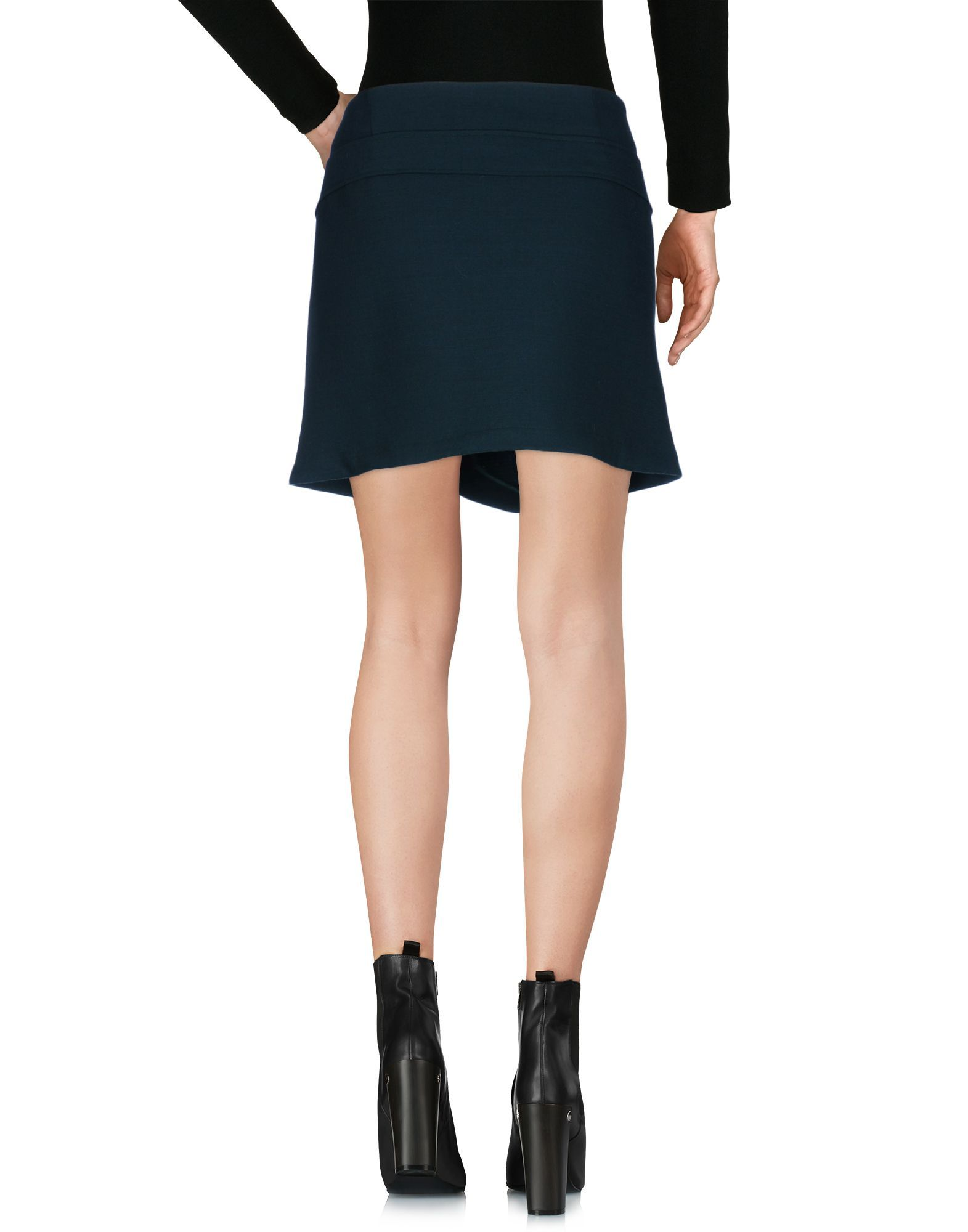 Mauro Grifoni Dark Green Short Skirt