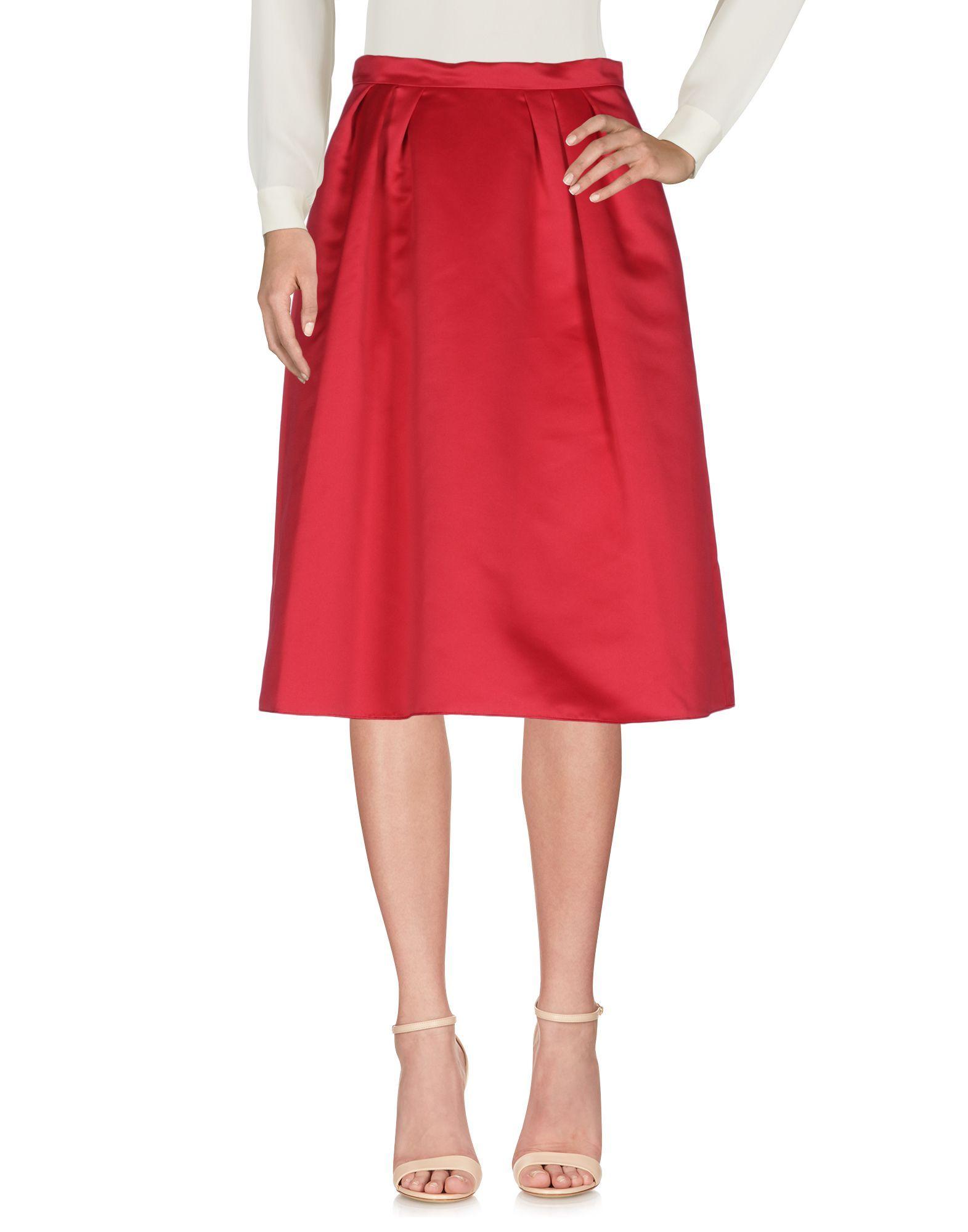 Pinko Garnet Knee Length Skirt