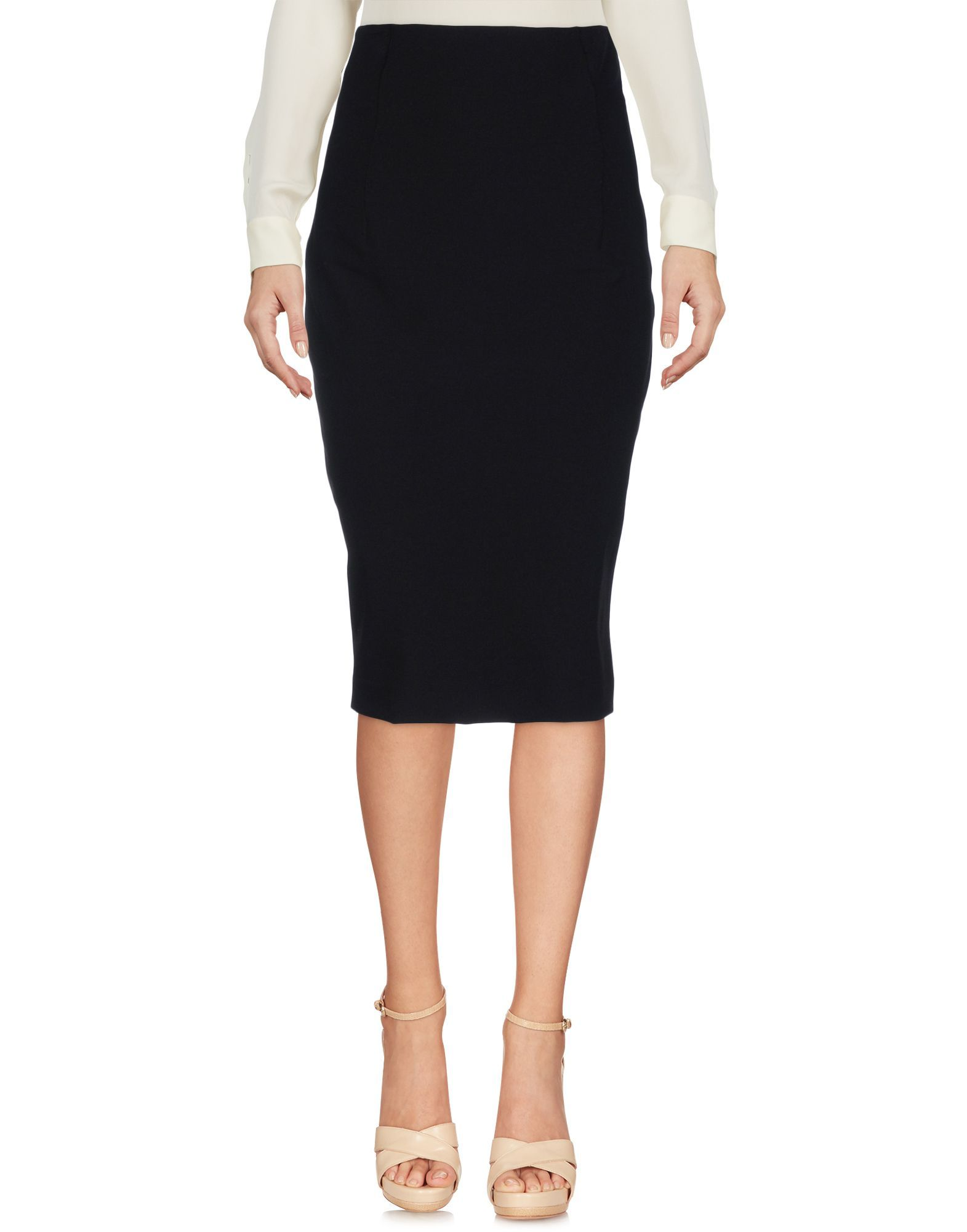 Twinset Black Pencil Skirt