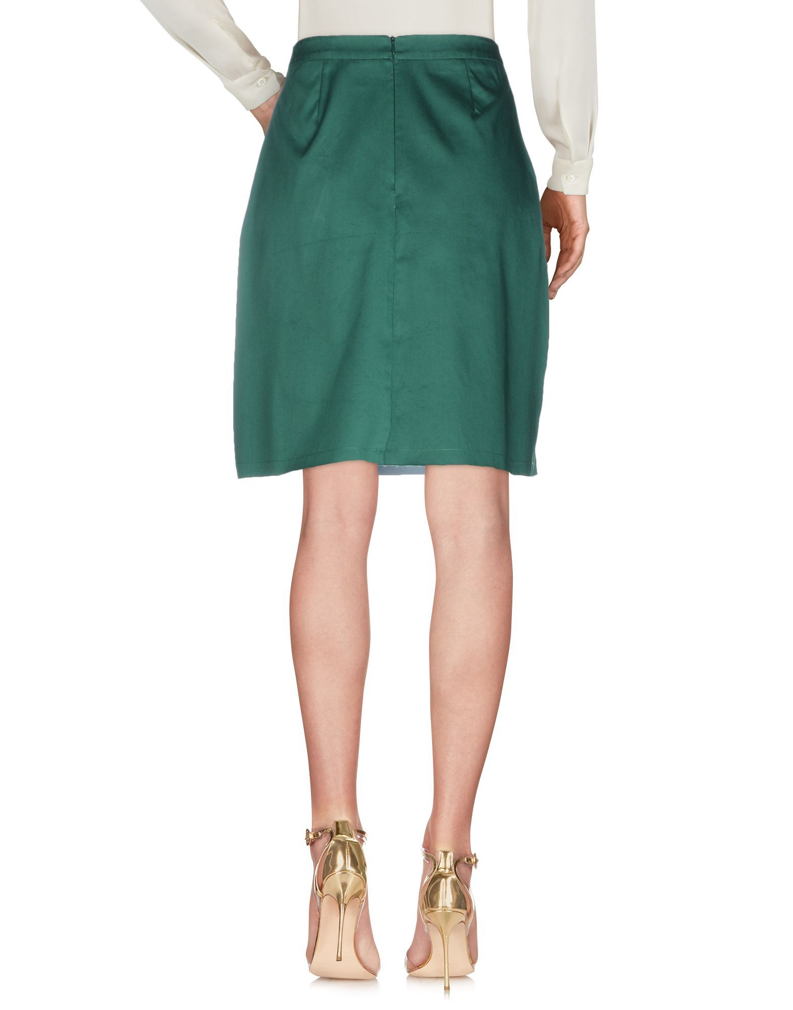 Etre Cecile Green Cotton Skirt