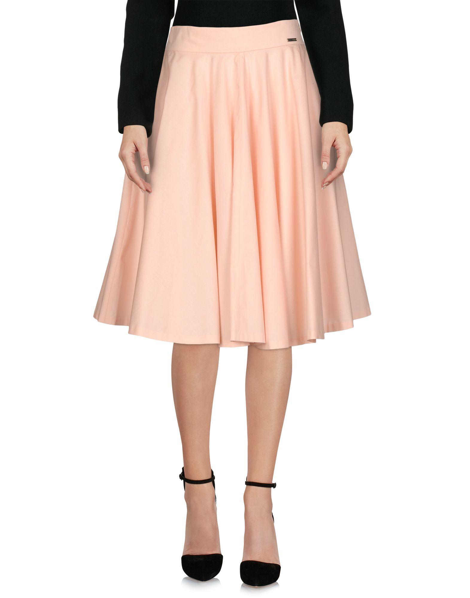 Pepe Jeans Pink Cotton Poplin Skirt