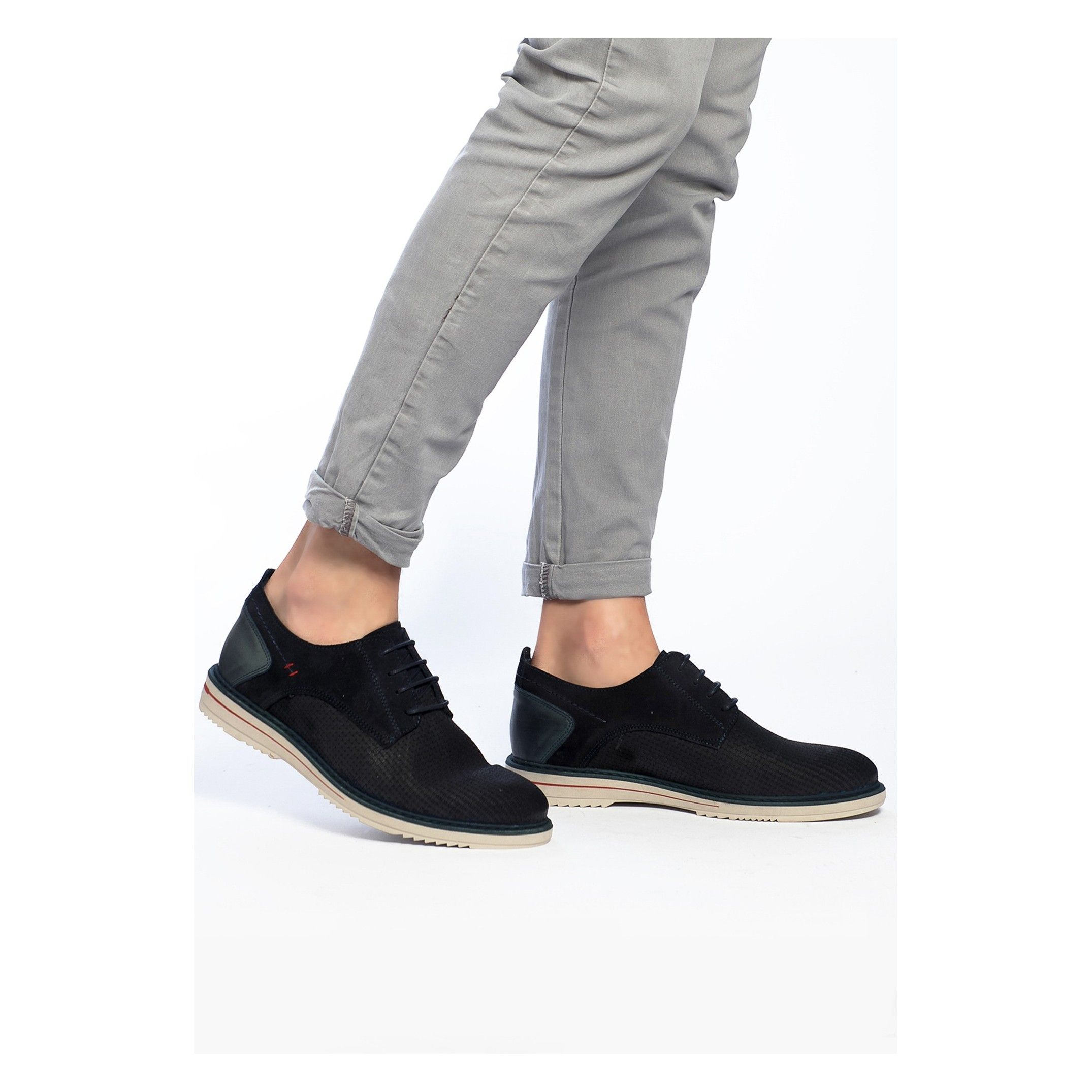 Leather Lace Up Shoes for Men