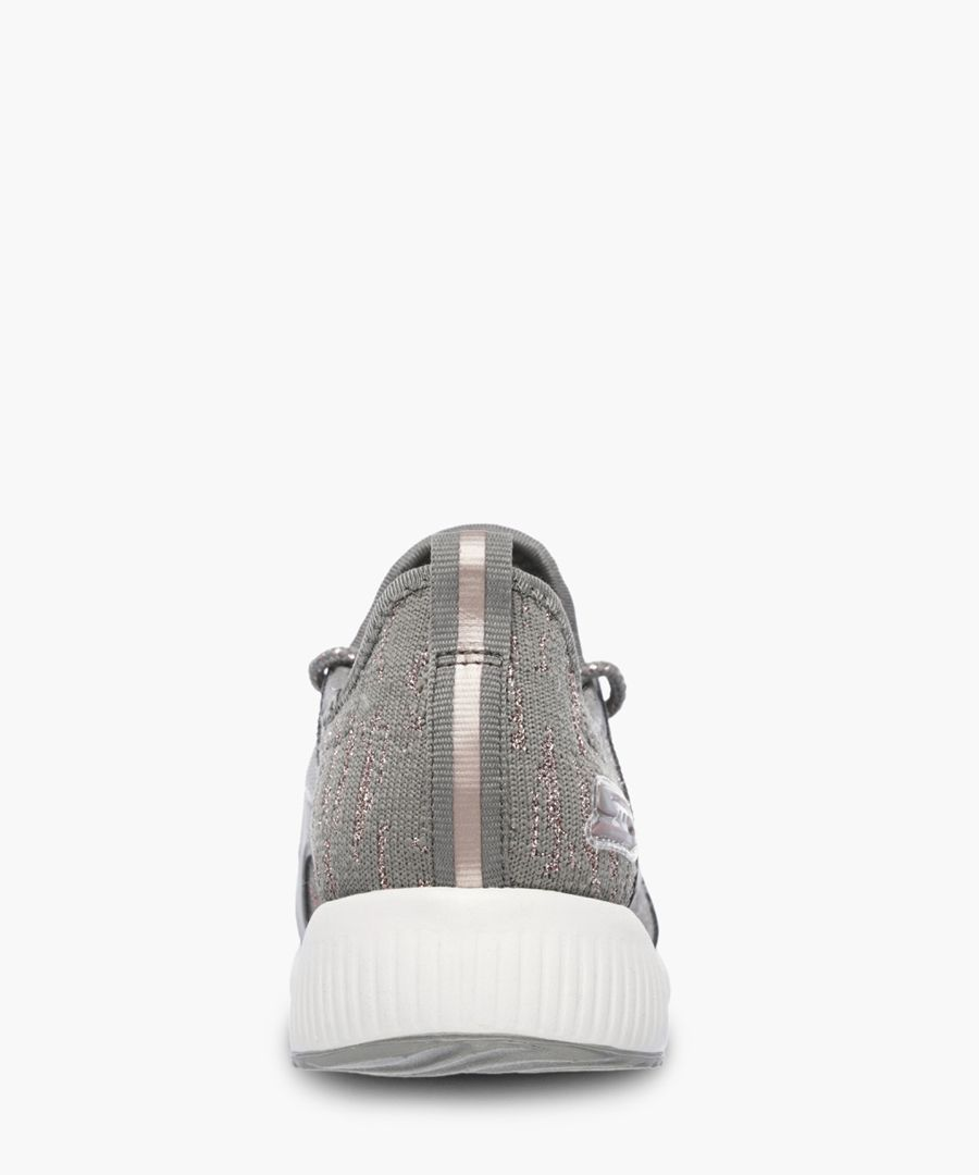 Bobs Sport Squad taupe trainers