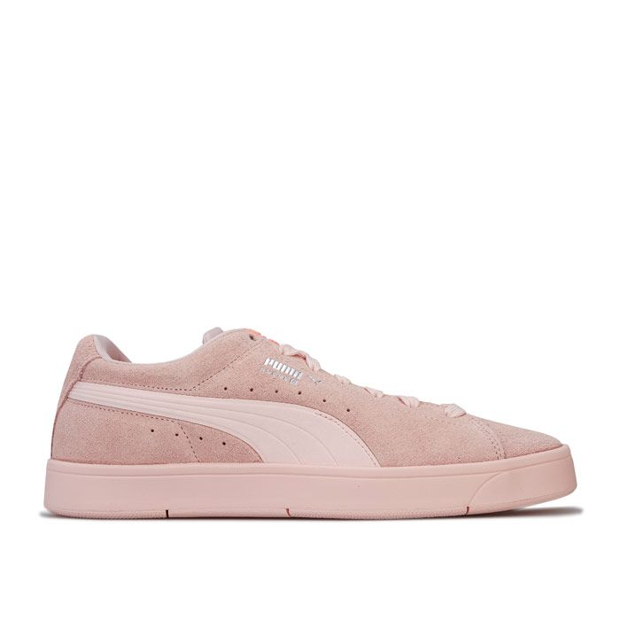 Women's Puma Suede S Trainers in Pink