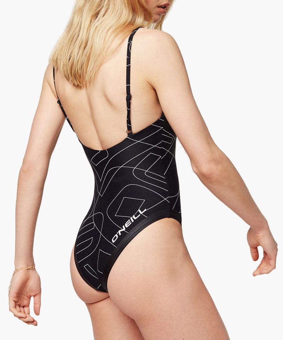 Pula black sketch swimsuit