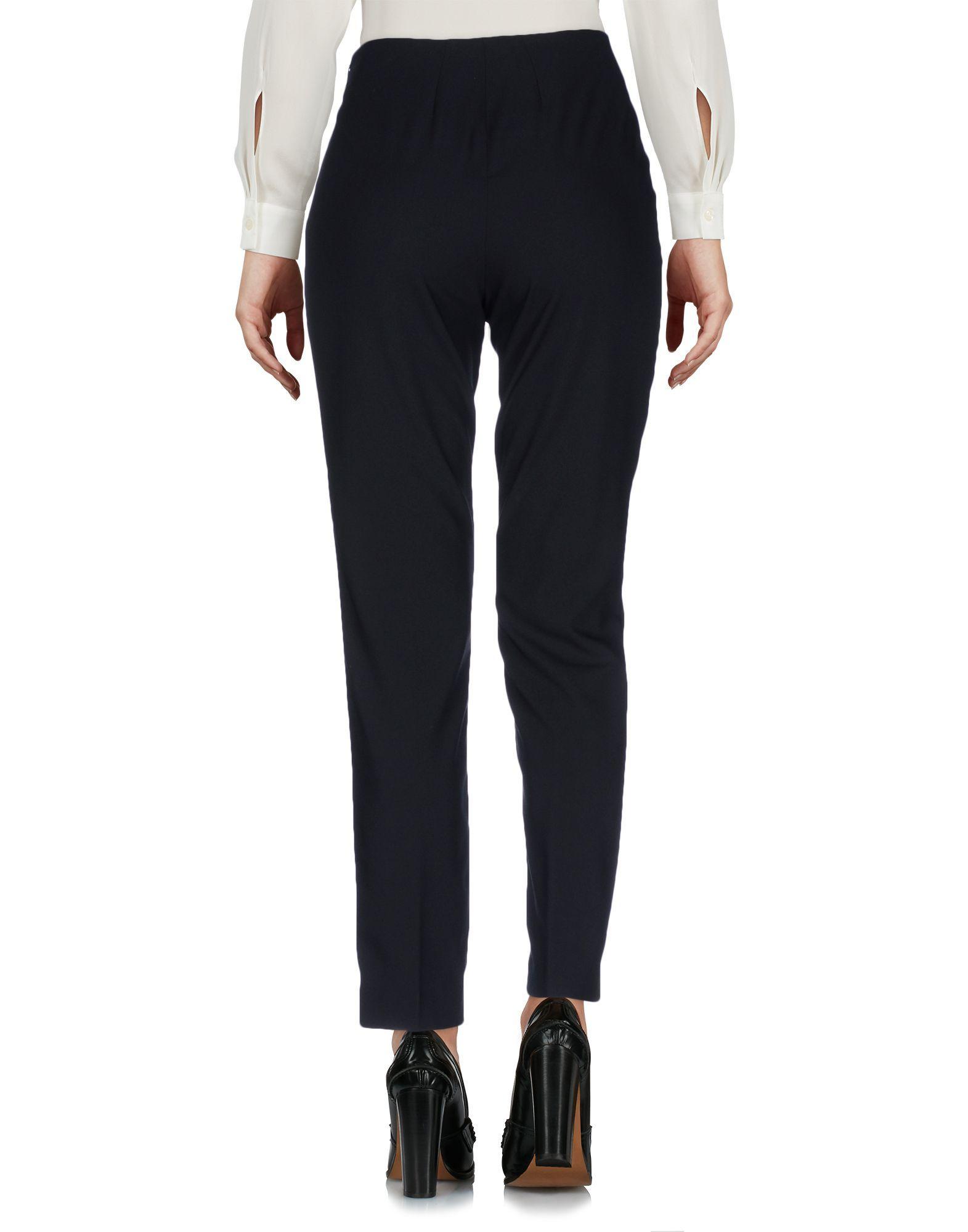 Philosophy Di Lorenzo Serafini Black Virgin Wool Tailored Trousers