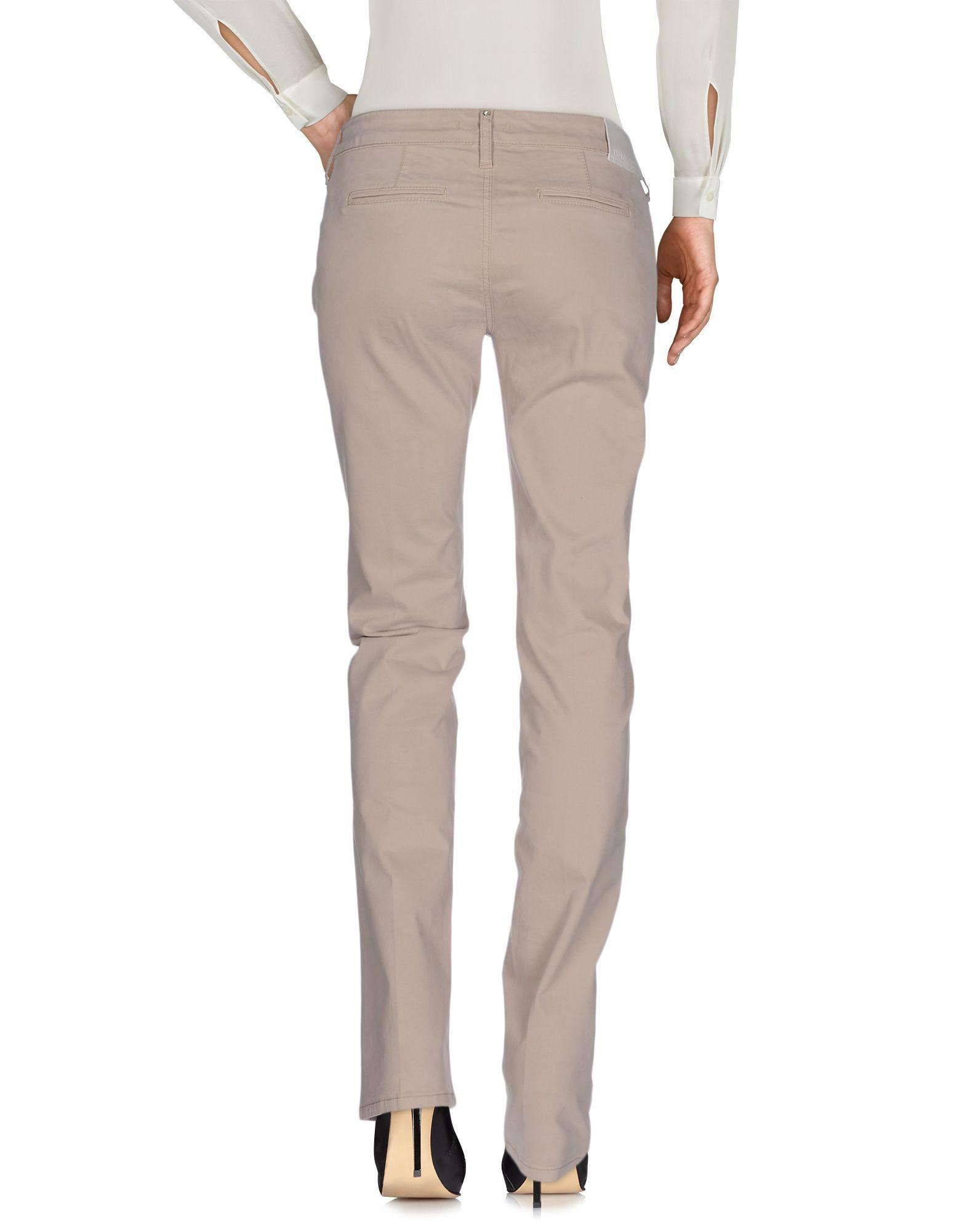 Liu Jo Dove Grey Cotton Trousers