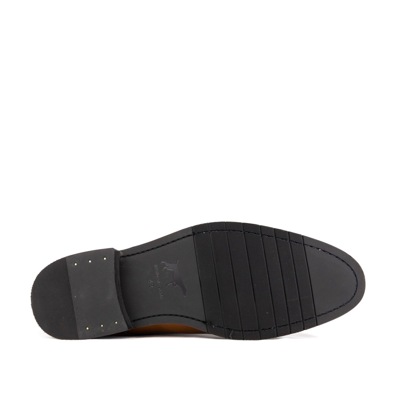 Lace Up Leather Shoes Men