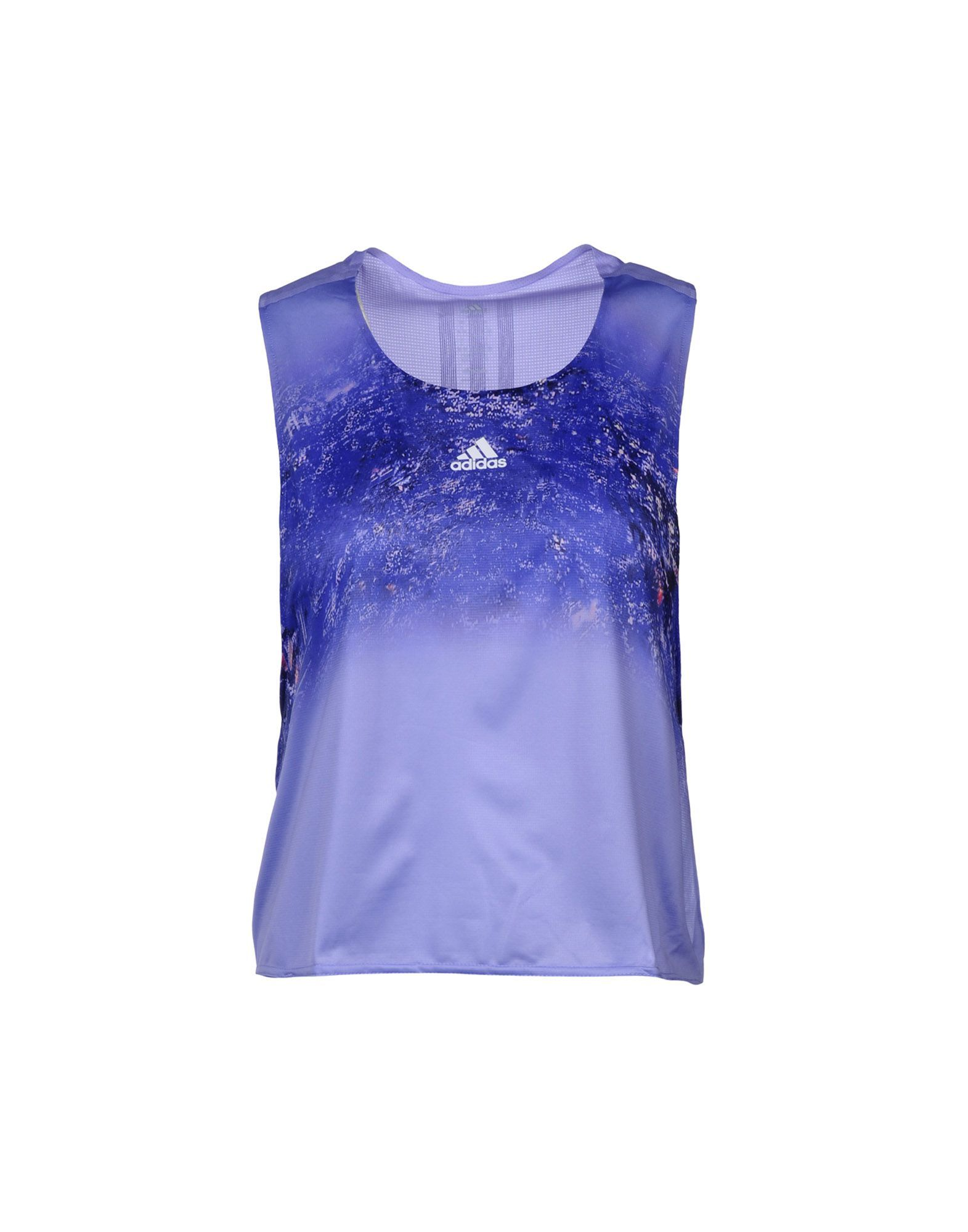 Adidas Lilac Polyester Top