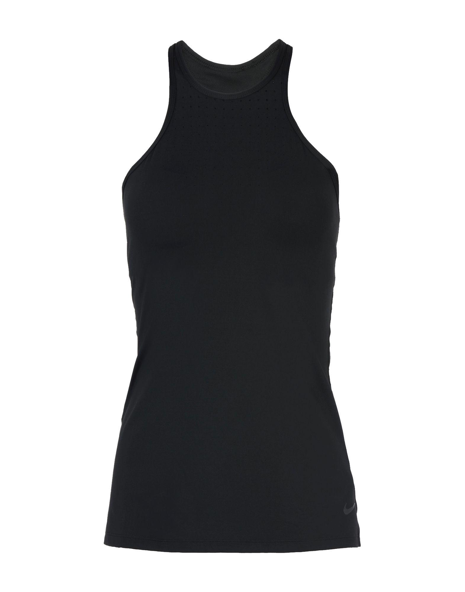 Nike Black Nylon Top