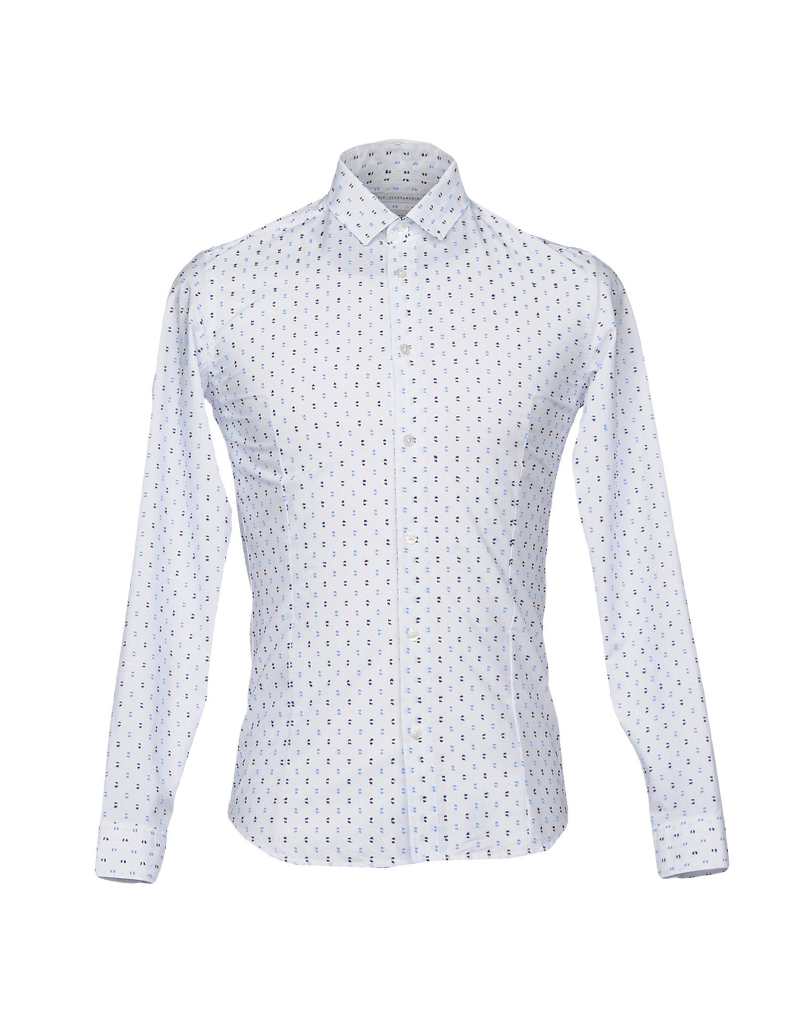 Daniele Alessandrini Man White Shirts