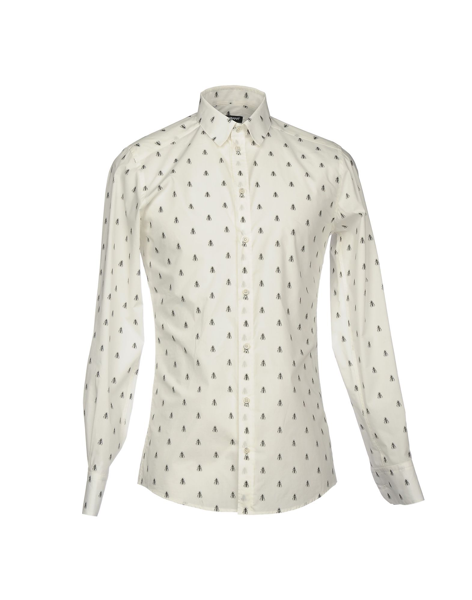 Dolce & Gabbana Ivory Cotton Shirt