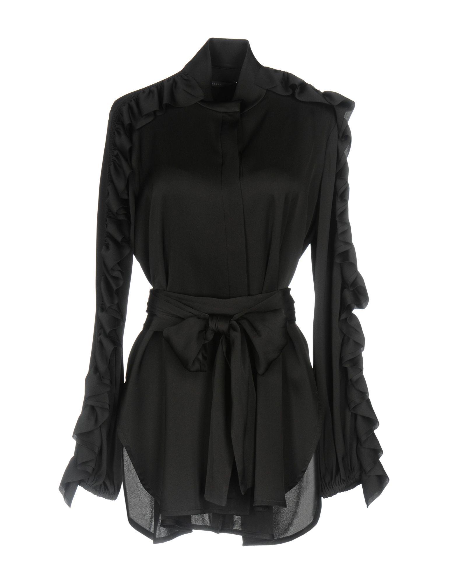 Ellery Black Silk Camicie