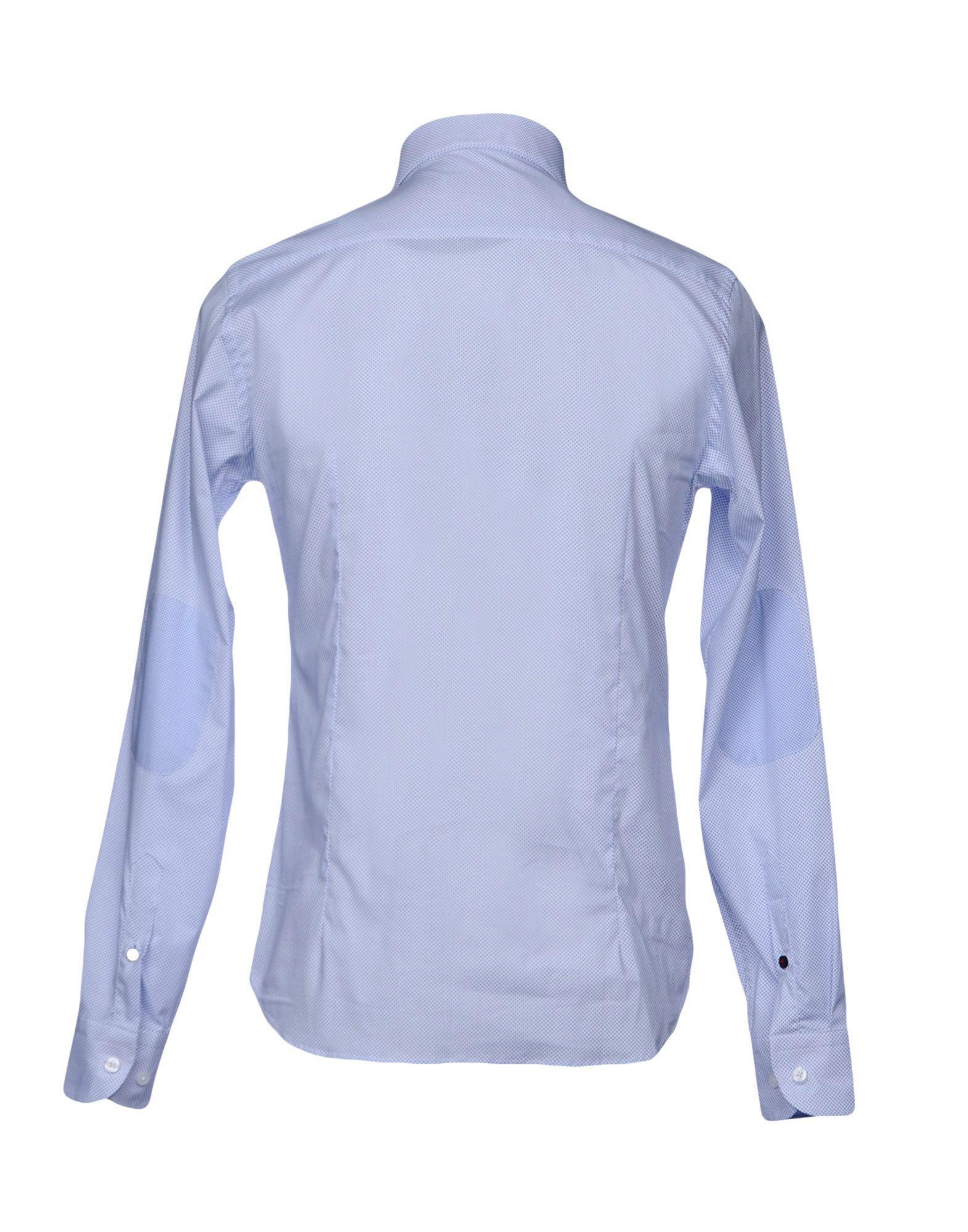 Hamaki-Ho Blue Cotton Shirt
