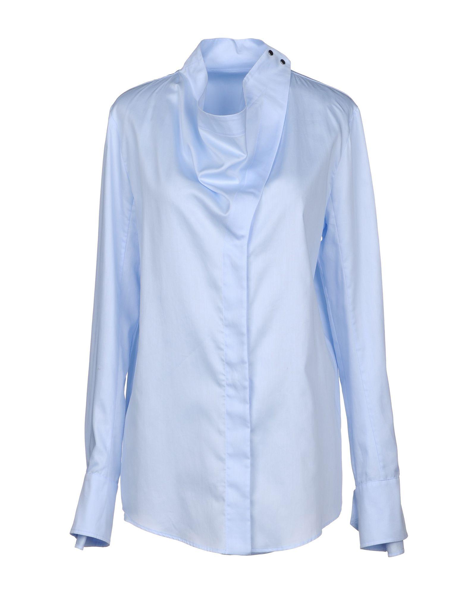 Stella McCartney Sky Blue Cotton Shirt