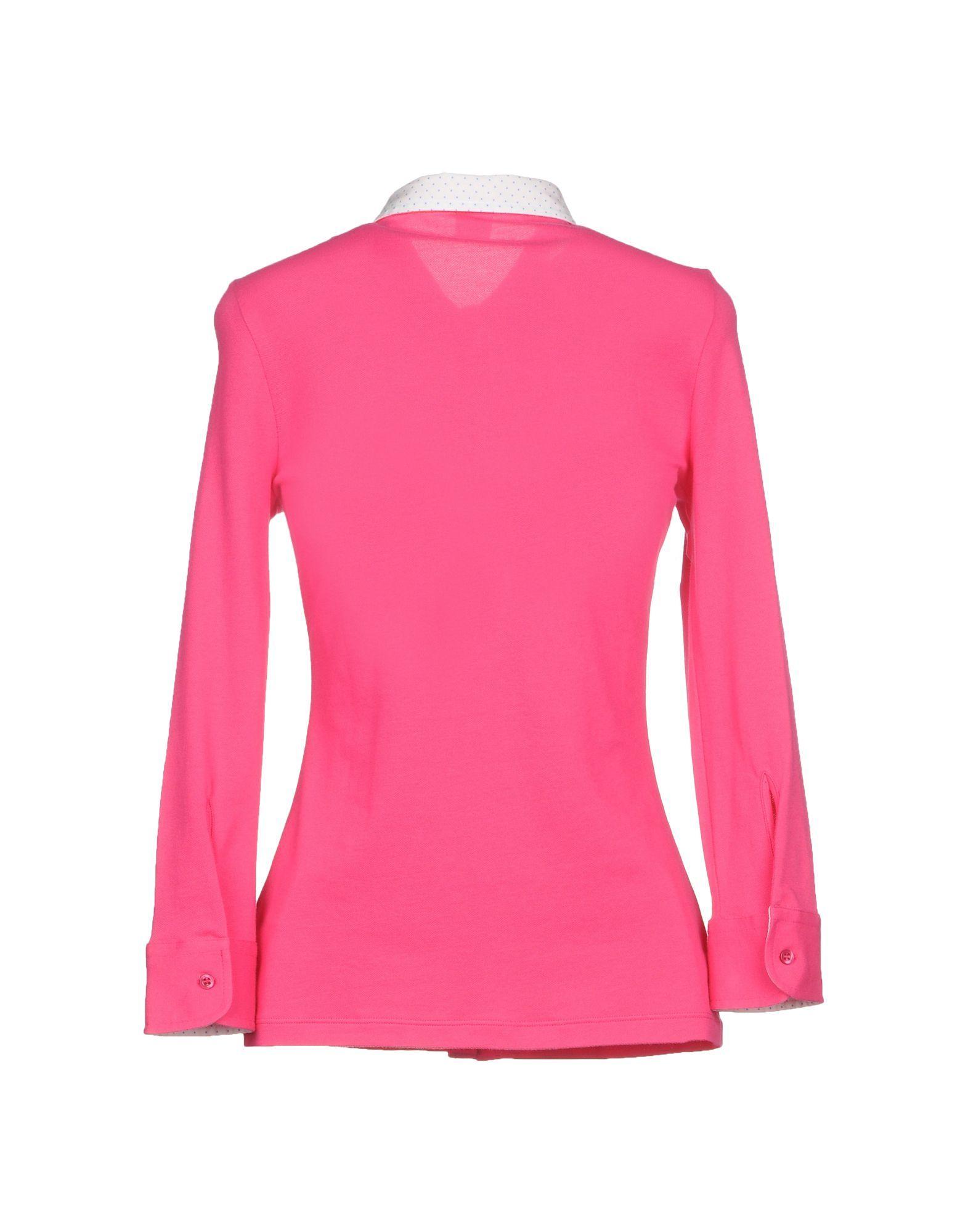 Fay Fuchsia Cotton Shirt